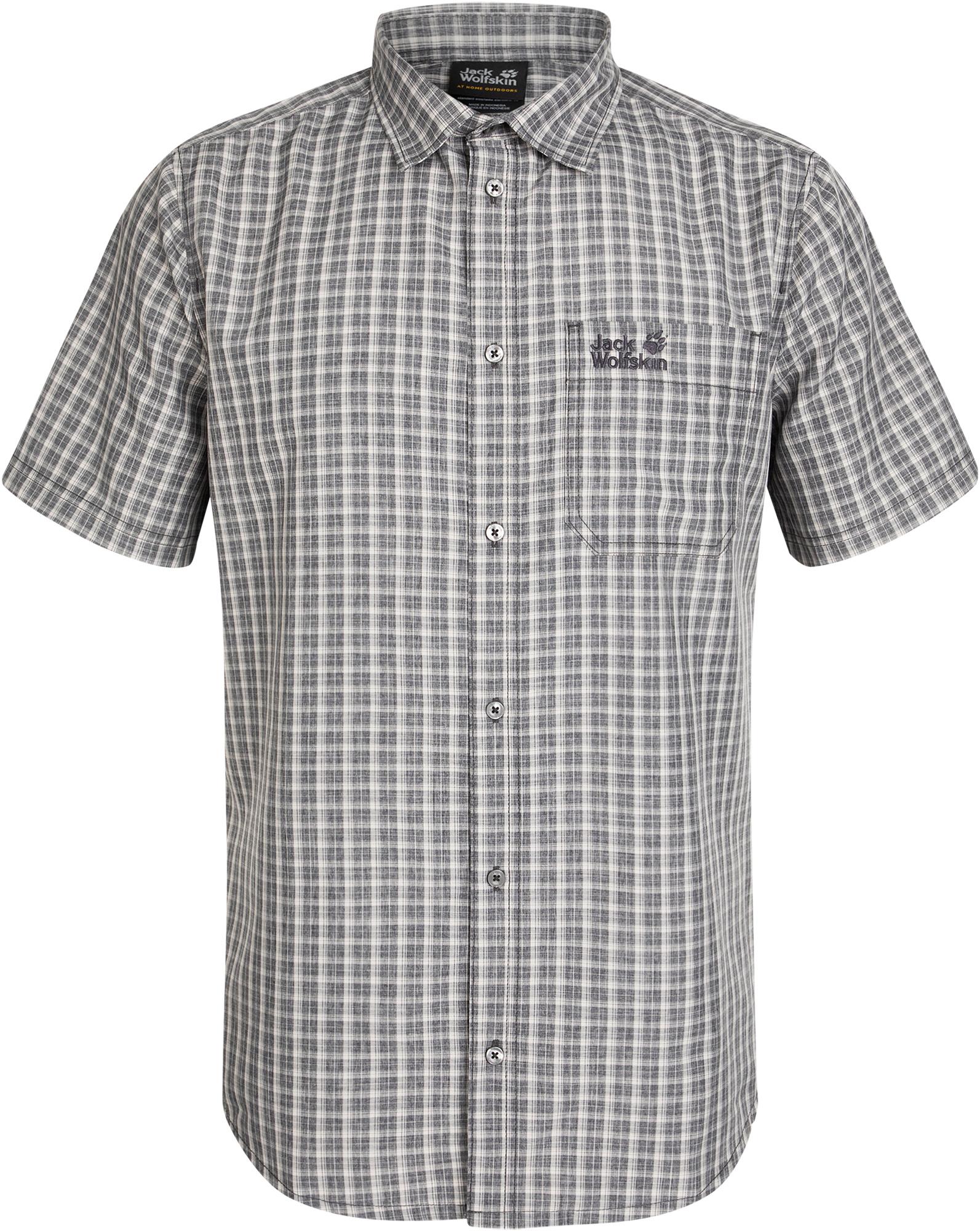 JACK WOLFSKIN Рубашка с коротким рукавом мужская Jack Wolfskin El Dorado, размер 58