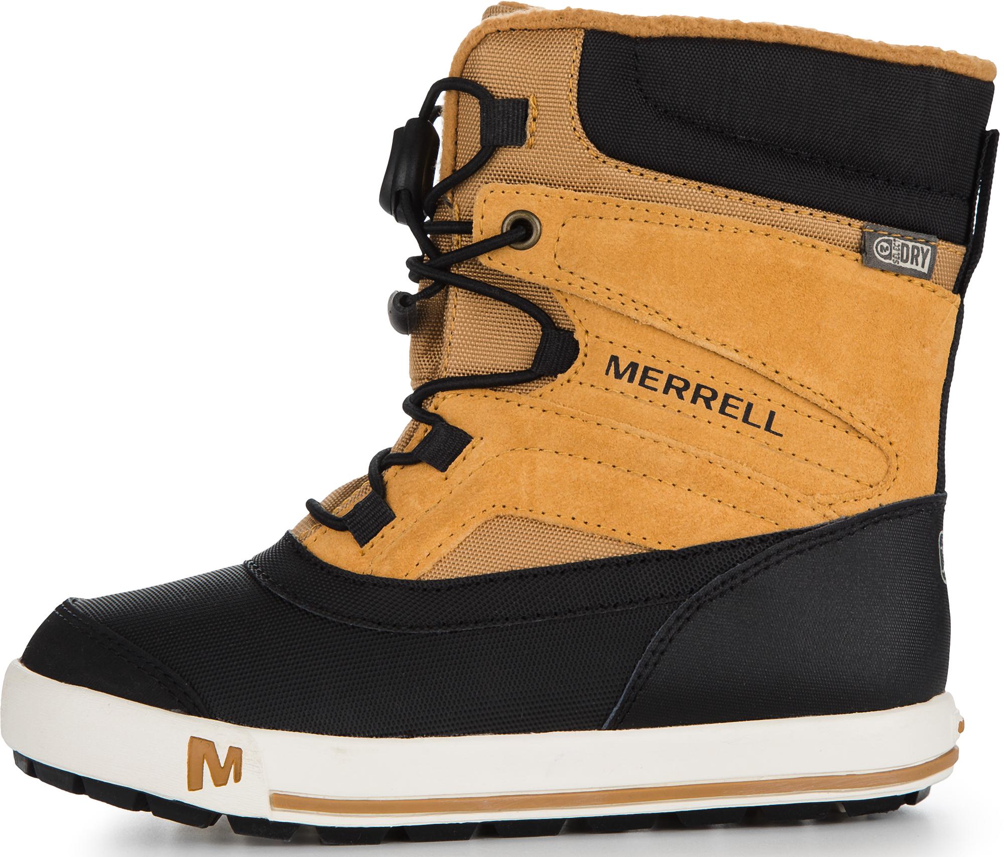Merrell Ботинки утепленные детские Merrell Ml-Boys Snow Bank 2.0, размер 40,5 цены онлайн