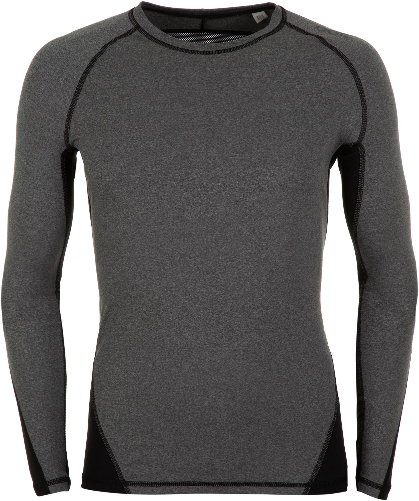 Adidas Лонгслив мужской Alphaskin Sport Heather, размер 58