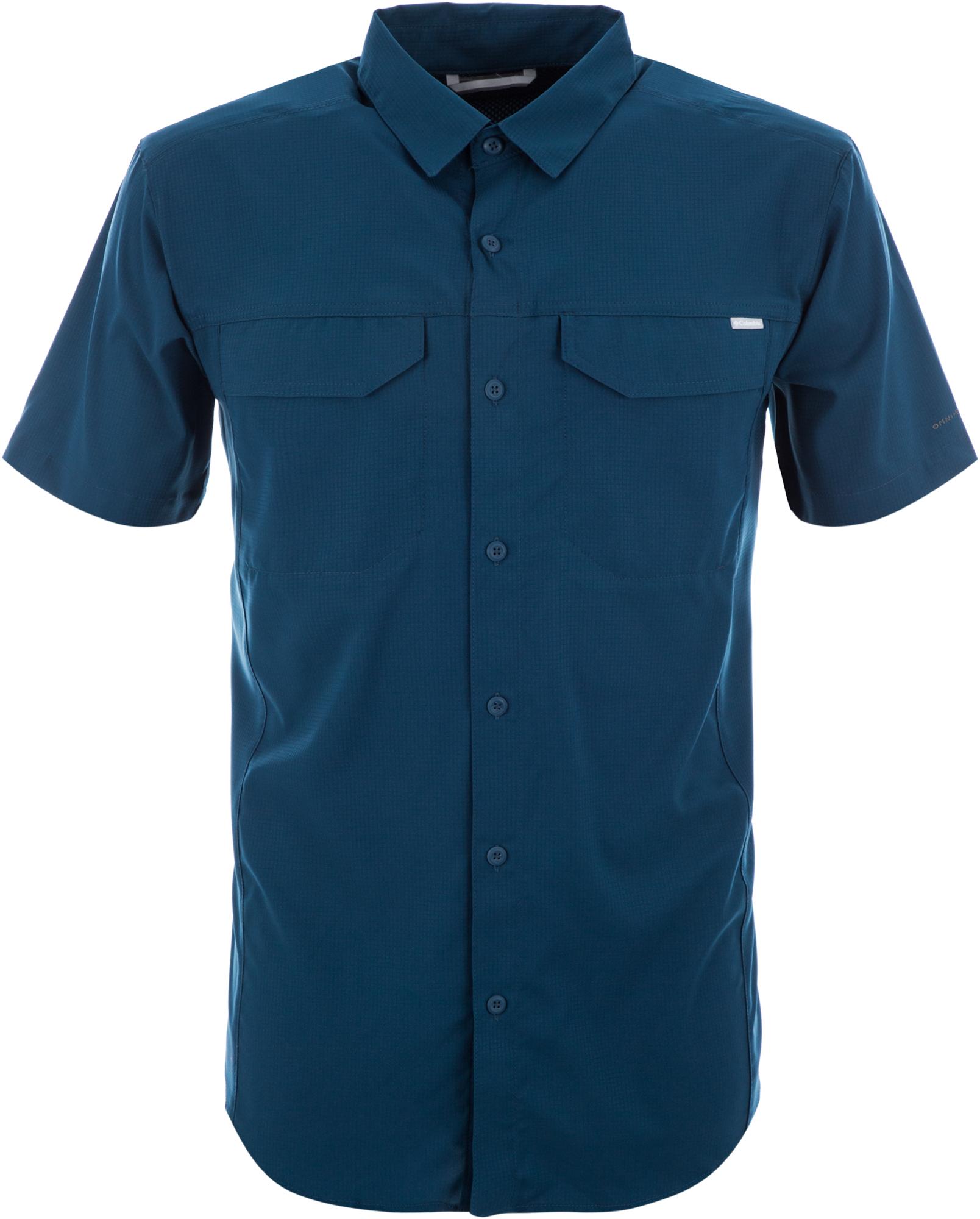 Columbia Рубашка мужская Columbia Silver Ridge Lite, размер 48-50 мужская рубашка с коротким рукавом белый