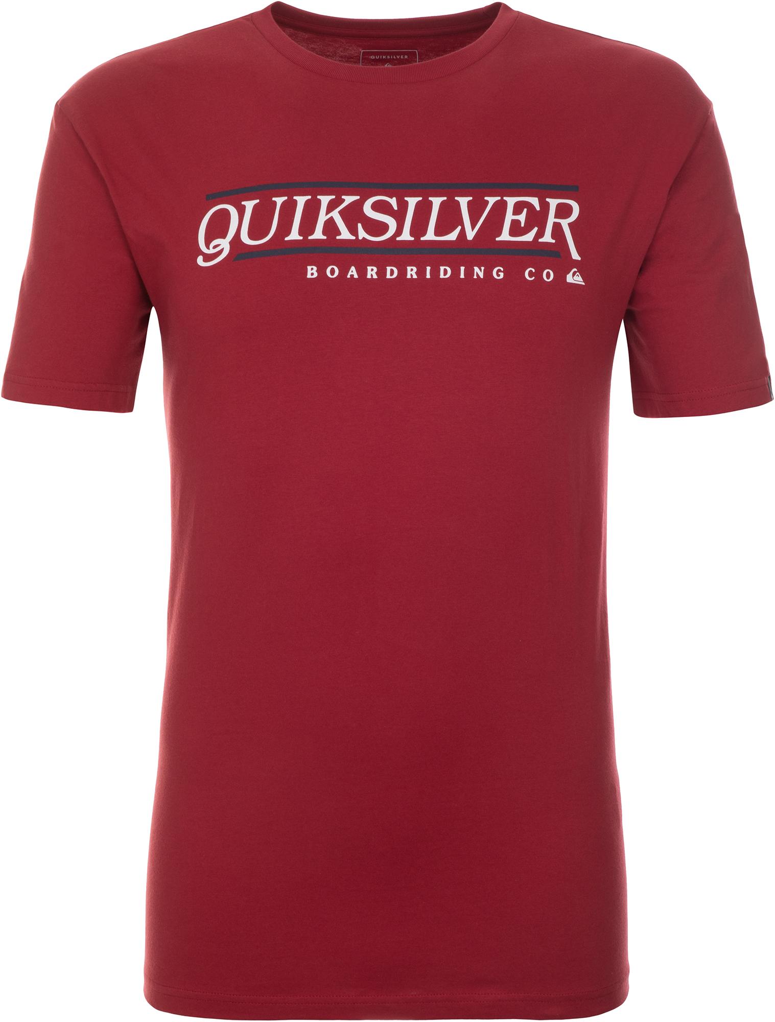 футболка мужская quiksilver цвет серый eqyzt04286 ktah размер l 50 52 Quiksilver Футболка мужская Quiksilver, размер 46-48
