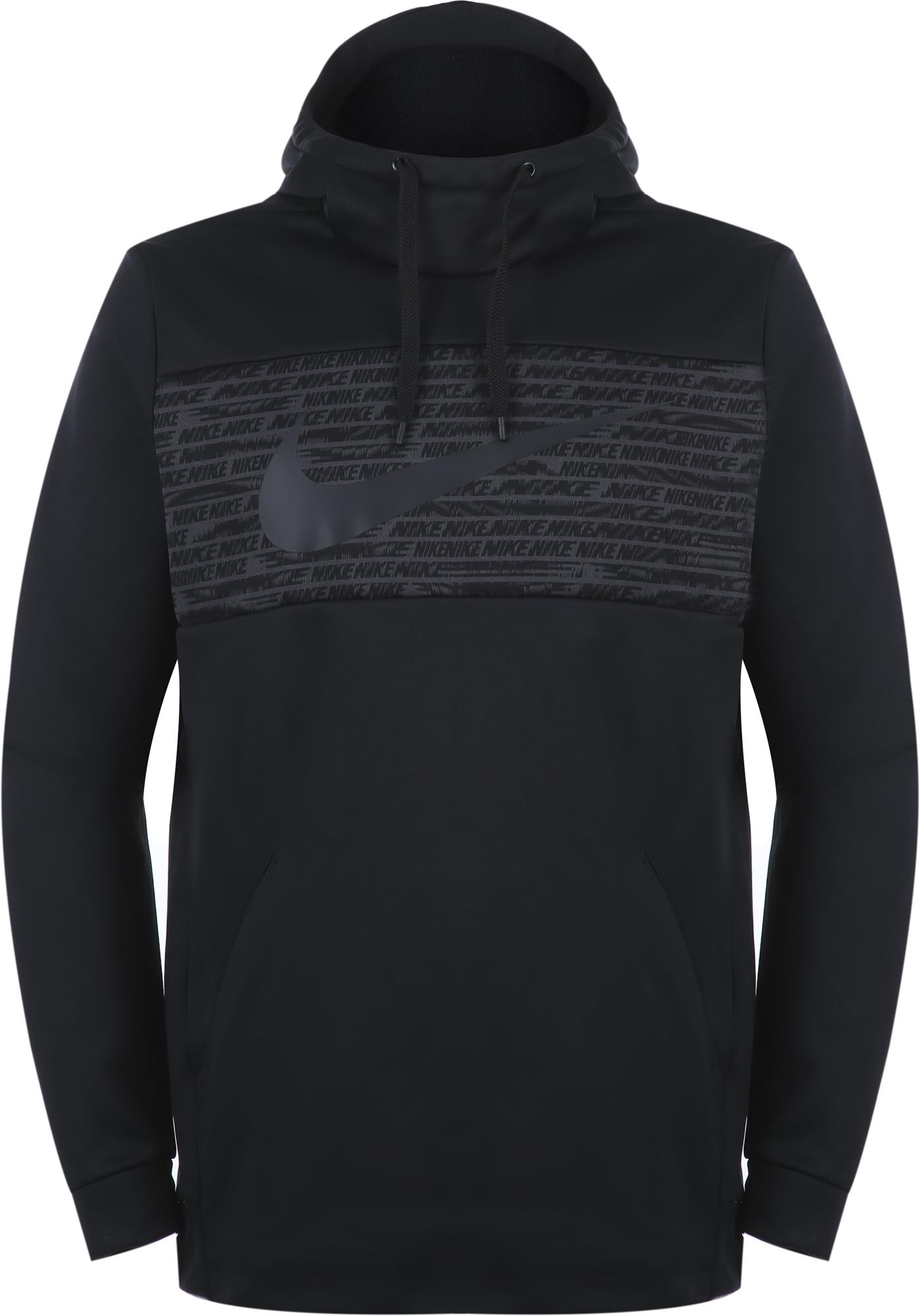 цена Nike Худи мужская Nike Therma, размер 44-46 онлайн в 2017 году