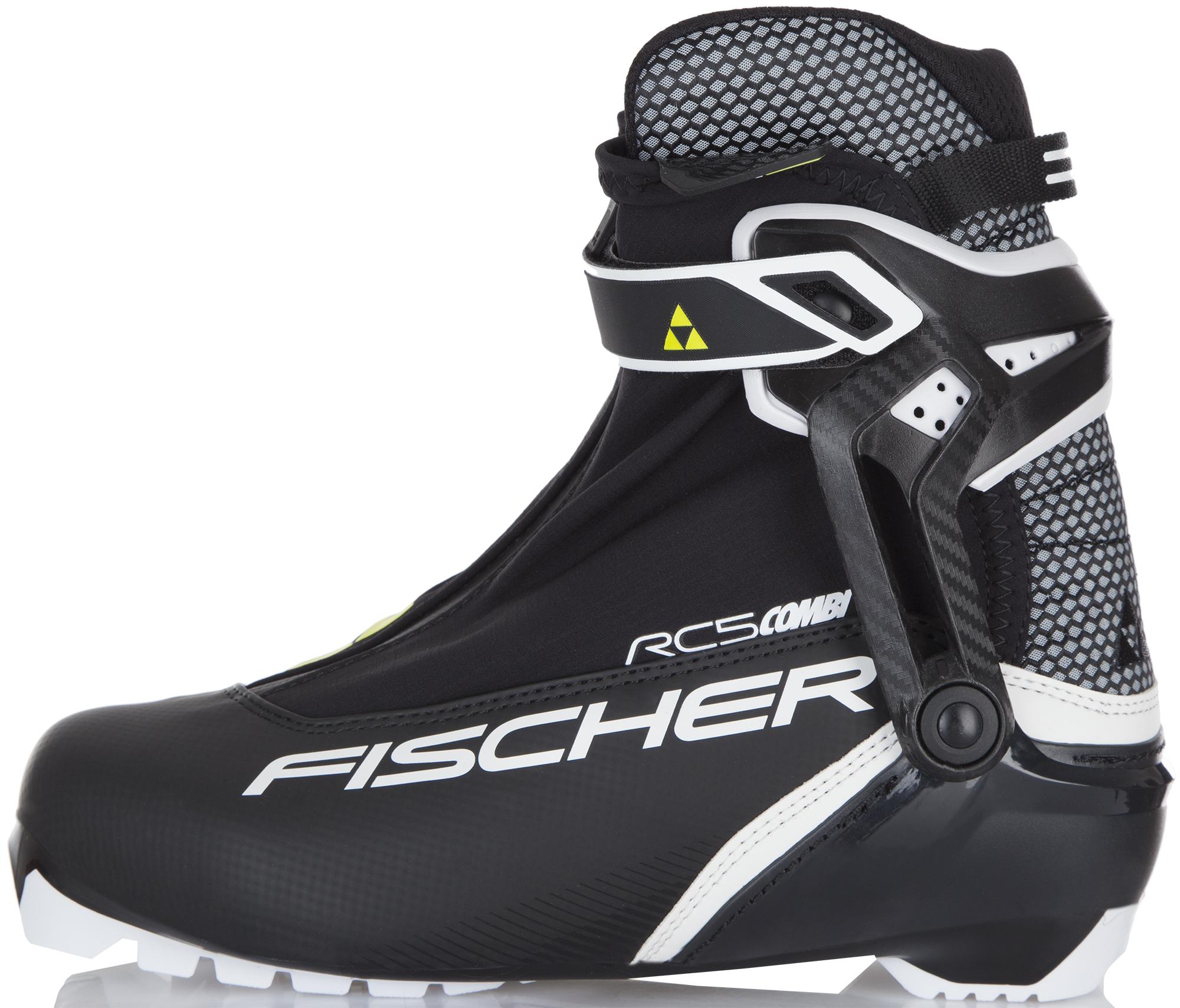 Fischer Ботинки для беговых лыж Fischer RC5 Combi, размер 47 цена