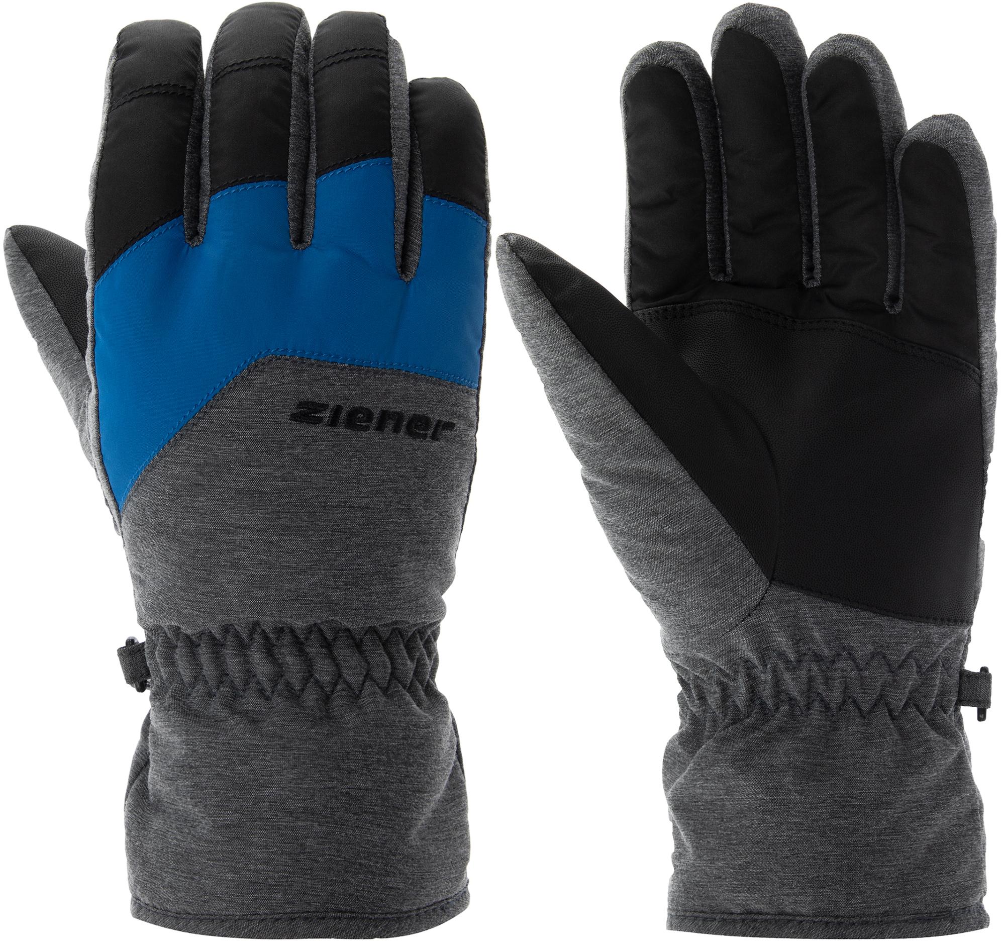 Ziener Перчатки для мальчиков Ziener, размер 6,5