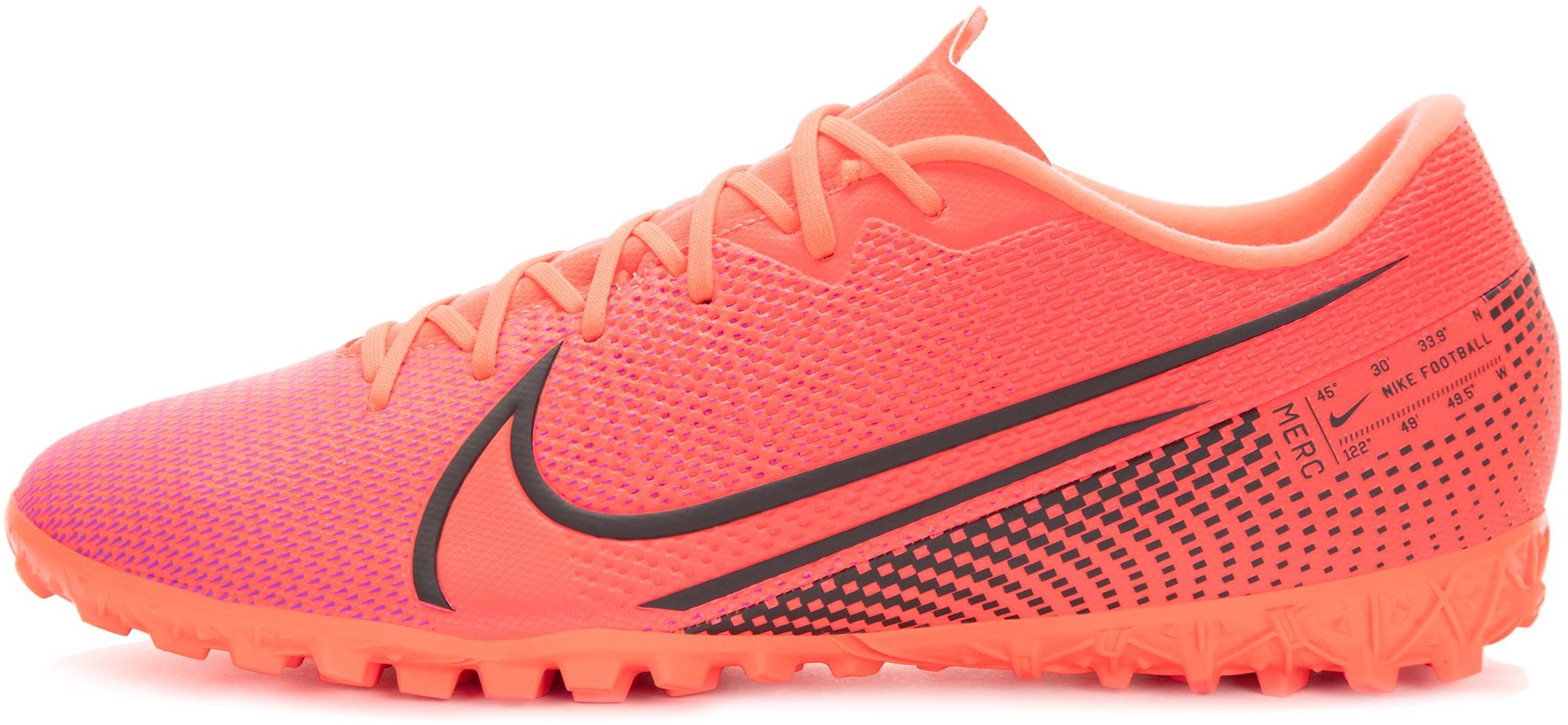 Nike Бутсы мужские Nike Vapor 13 Academy Tf, размер 43,5 nike бутсы мужские nike nike bravatax ii tf