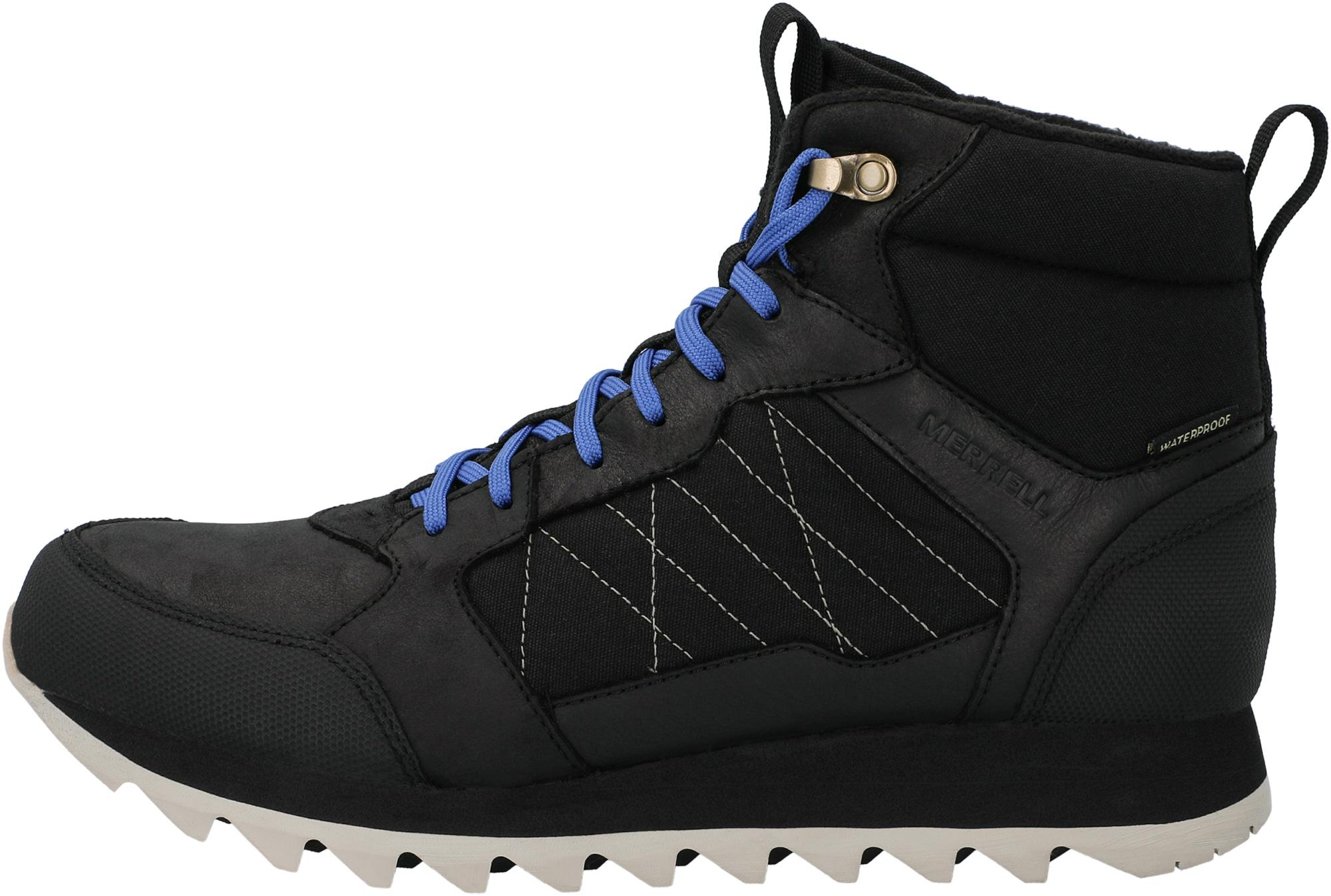 Merrell Ботинки утепленные мужские Merrell Alpine Sneaker MID PLR WP, размер 43 merrell ботинки мужские merrell forestbound wp размер 43