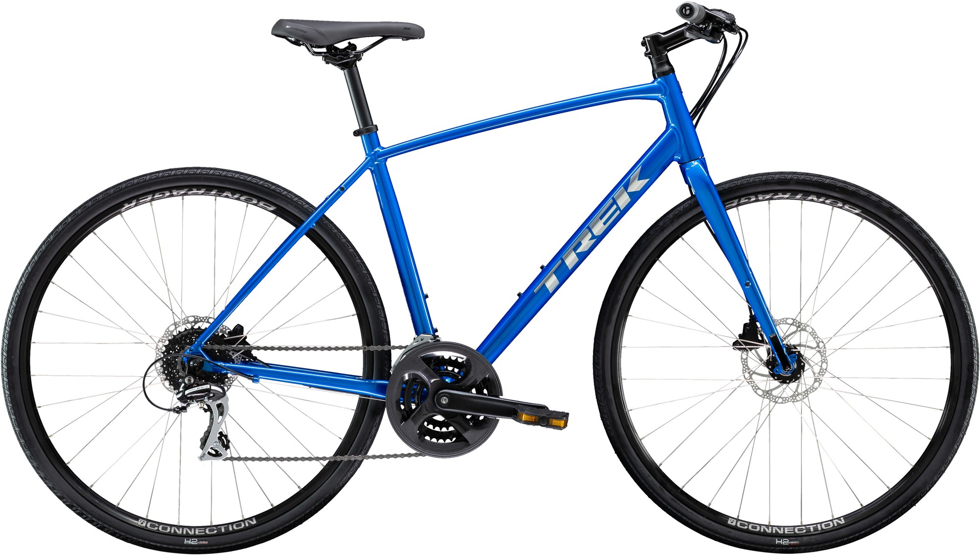 цена на Trek Велосипед городской Trek FX 2 Disc 700C