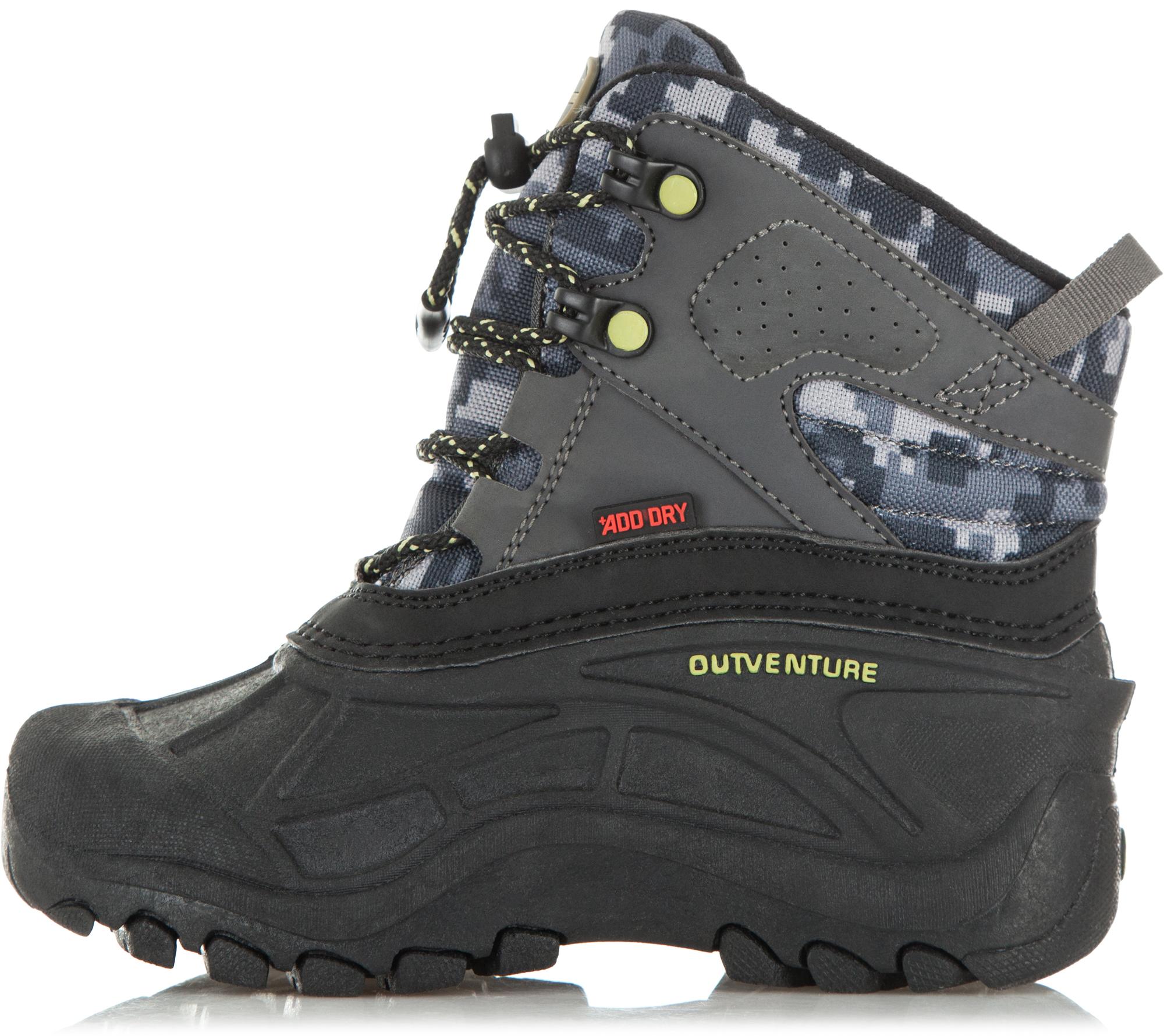 Outventure Сапоги утепленные для мальчиков Outventure Rime, размер 30 outventure ботинки утепленные для мальчиков outventure