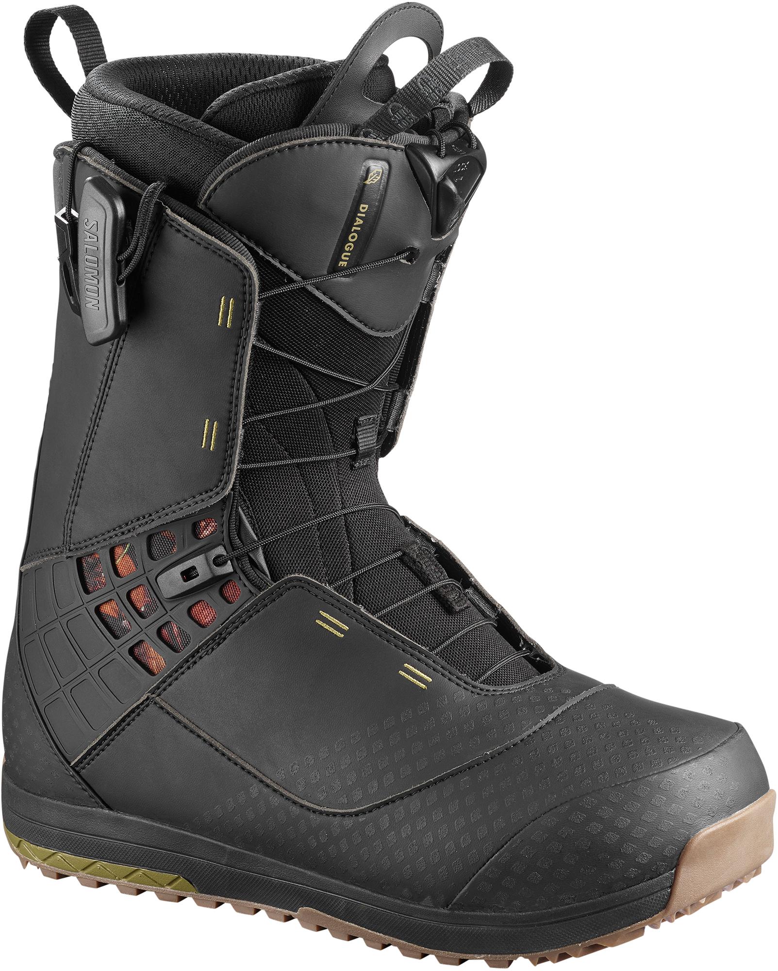 Salomon Сноубордические ботинки Salomon Dialogue, размер 44 сноубордические перчатки vermont