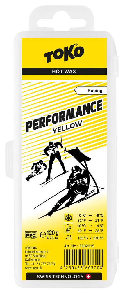 Toko Мазь скольжения TOKO Base Performance Yellow 120g, 0C/-6C недорого