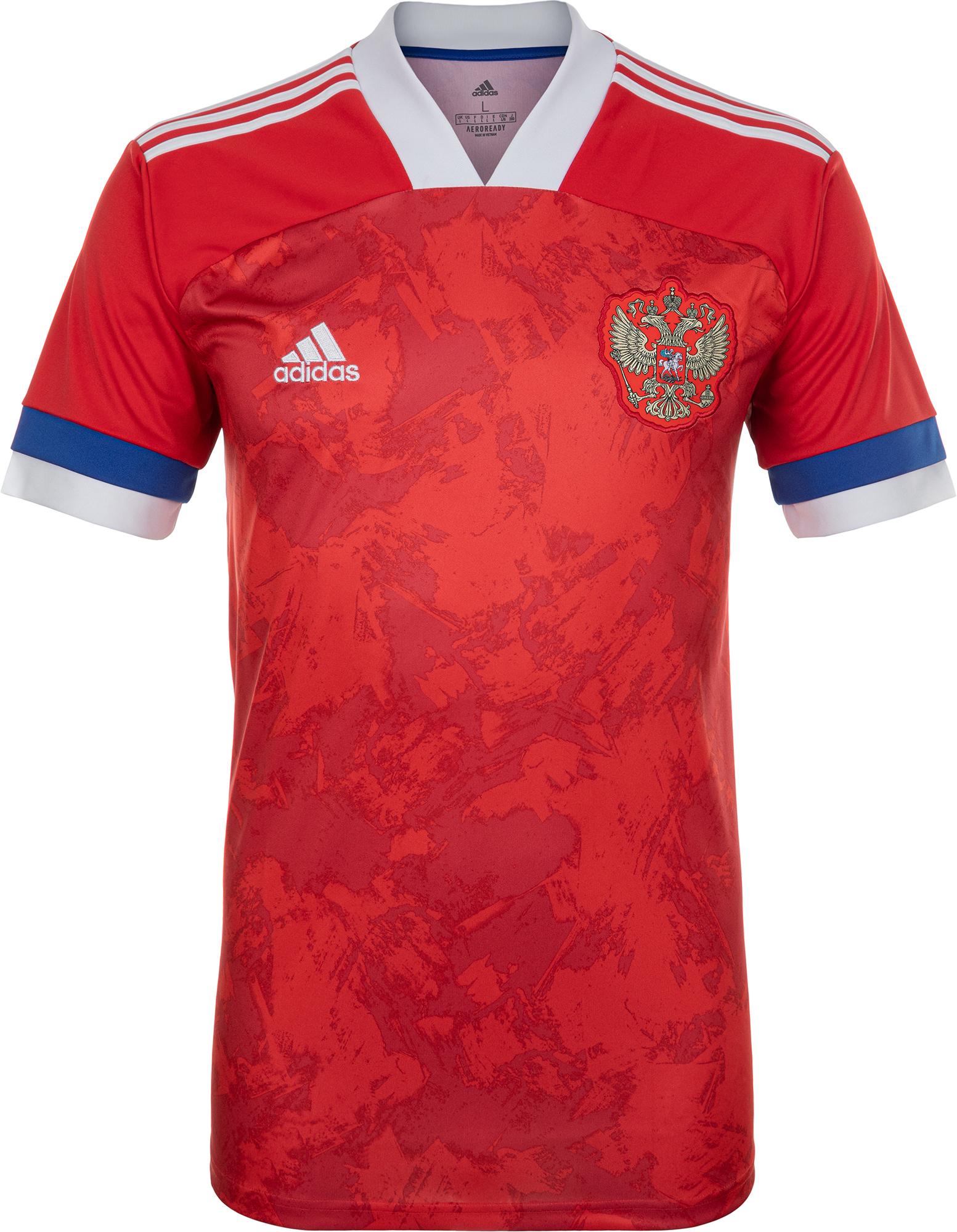 Adidas Домашняя форма сборной России мужская, Adidas, размер 58 цена