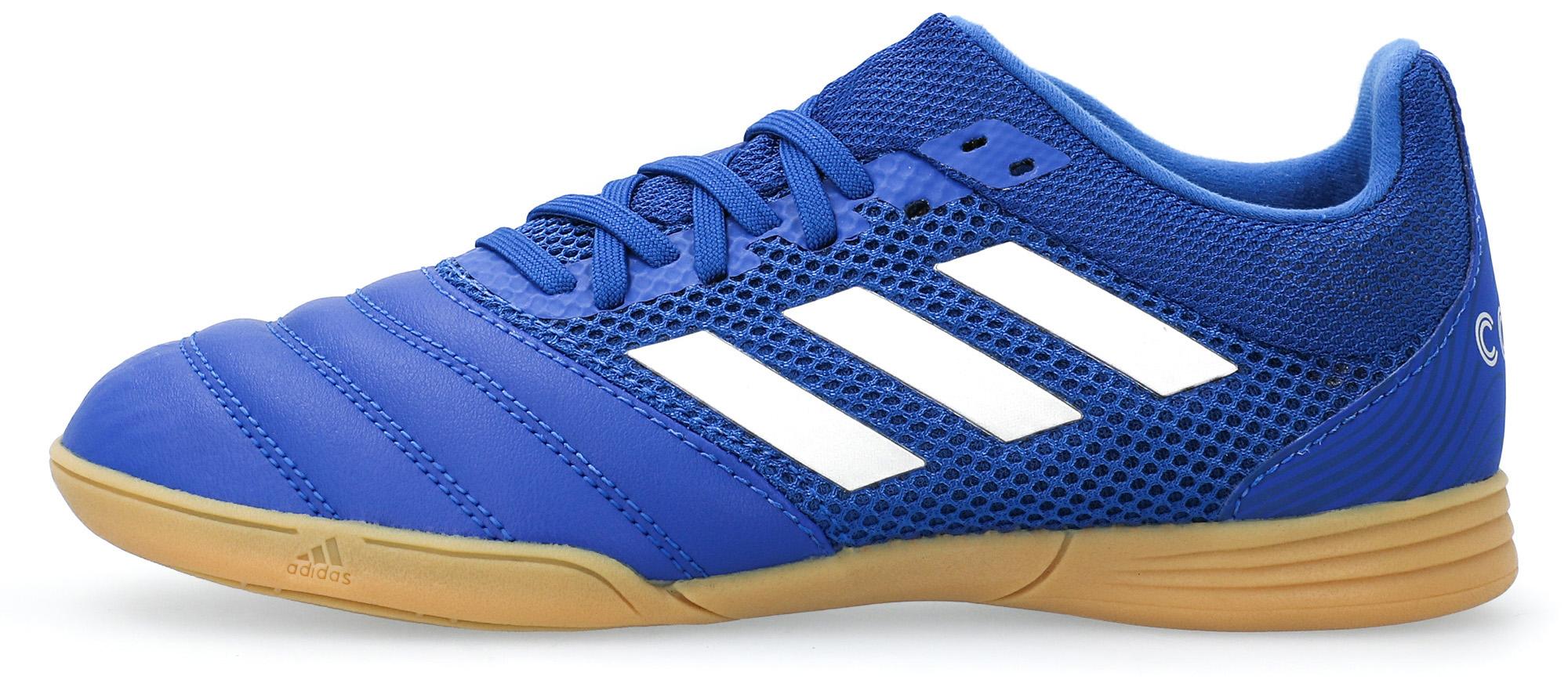 Бутсы для мальчиков adidas Copa 20.3 In Sala J, размер 32 adidas бутсы для мальчиков adidas copa 20 3 fg j размер 37