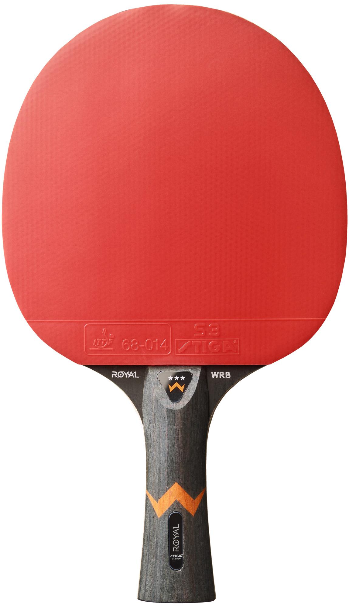 Stiga Ракетка для настольного тенниса Stiga ROYAL 3-star WRB все цены