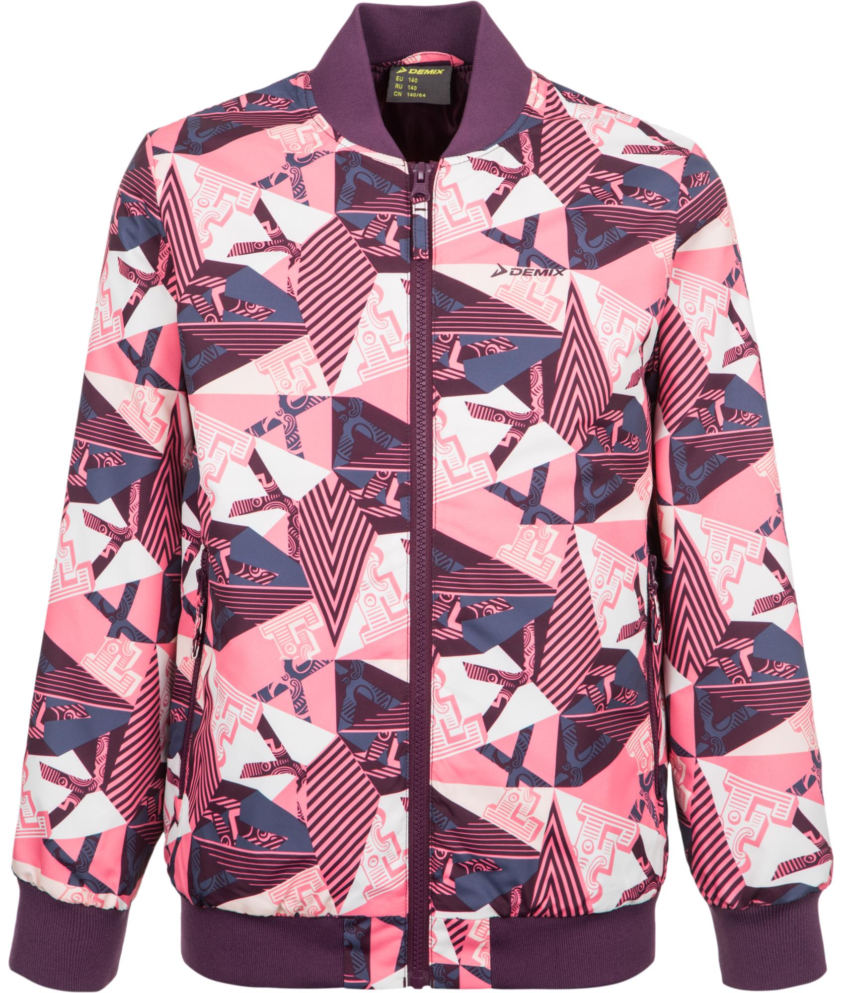 Demix Куртка утепленная для девочек Demix, размер 146