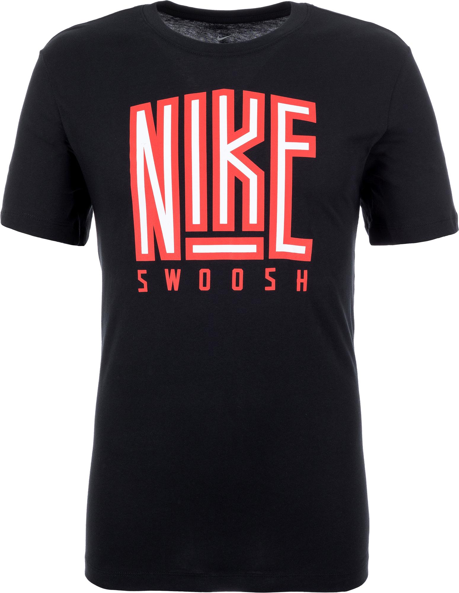 купить Nike Футболка мужская Nike Sportswear Swoosh, размер 50-52 недорого