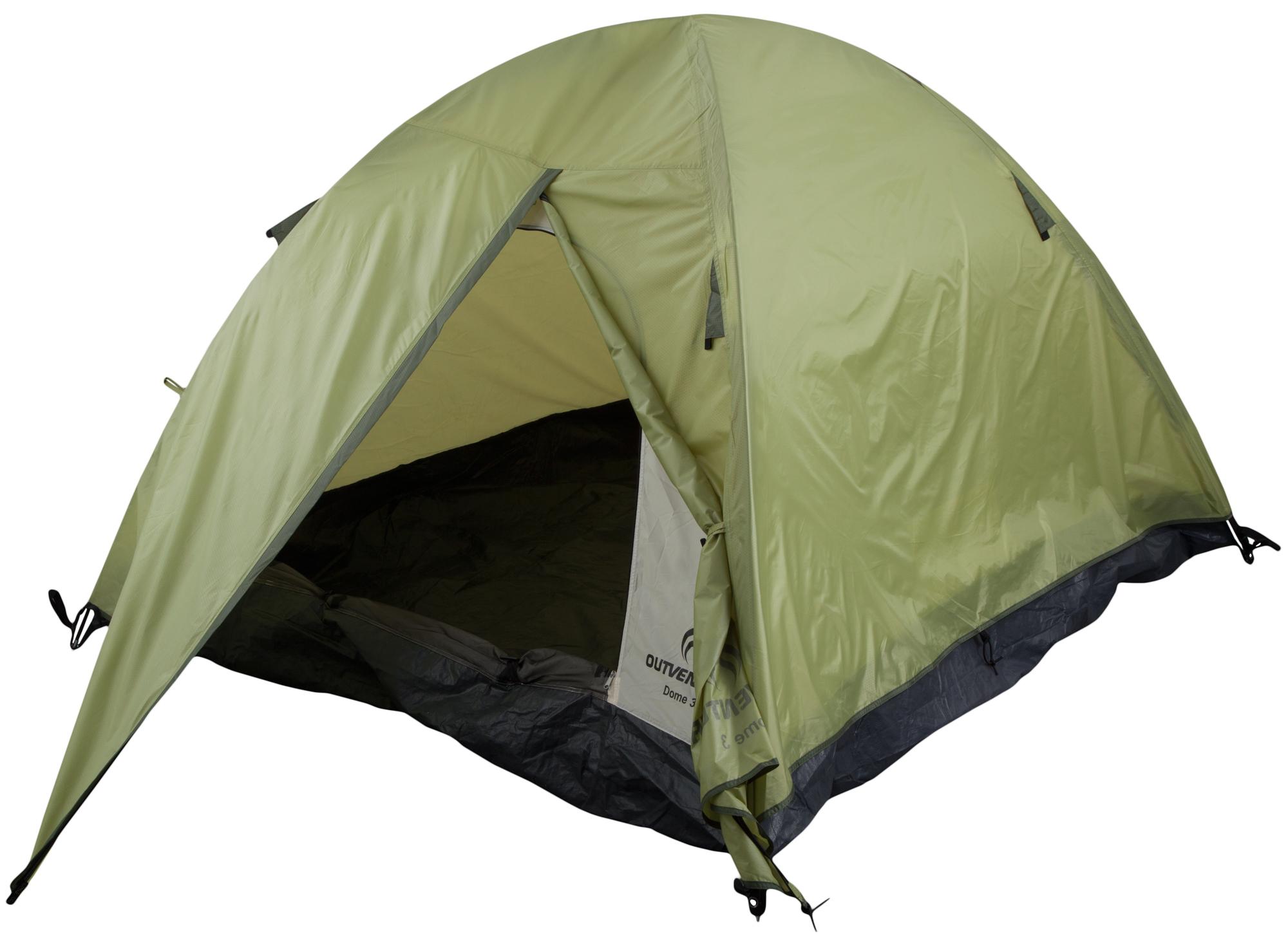 Outventure Outventure Dome 3 outventure спальный мешок правый для походов outventure trek t 3