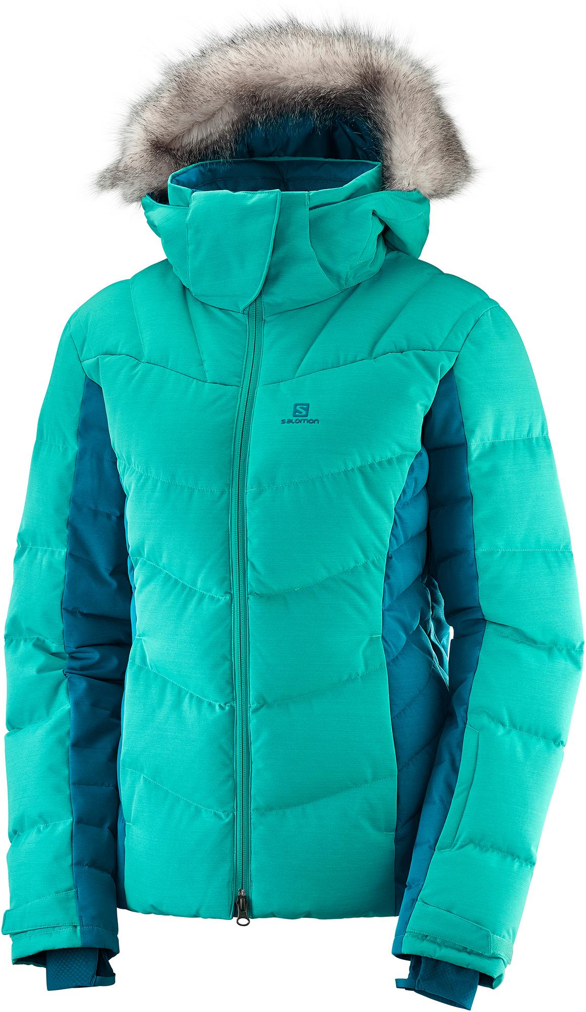Salomon Куртка пуховая женская Salomon Icetown, размер 54 цены онлайн