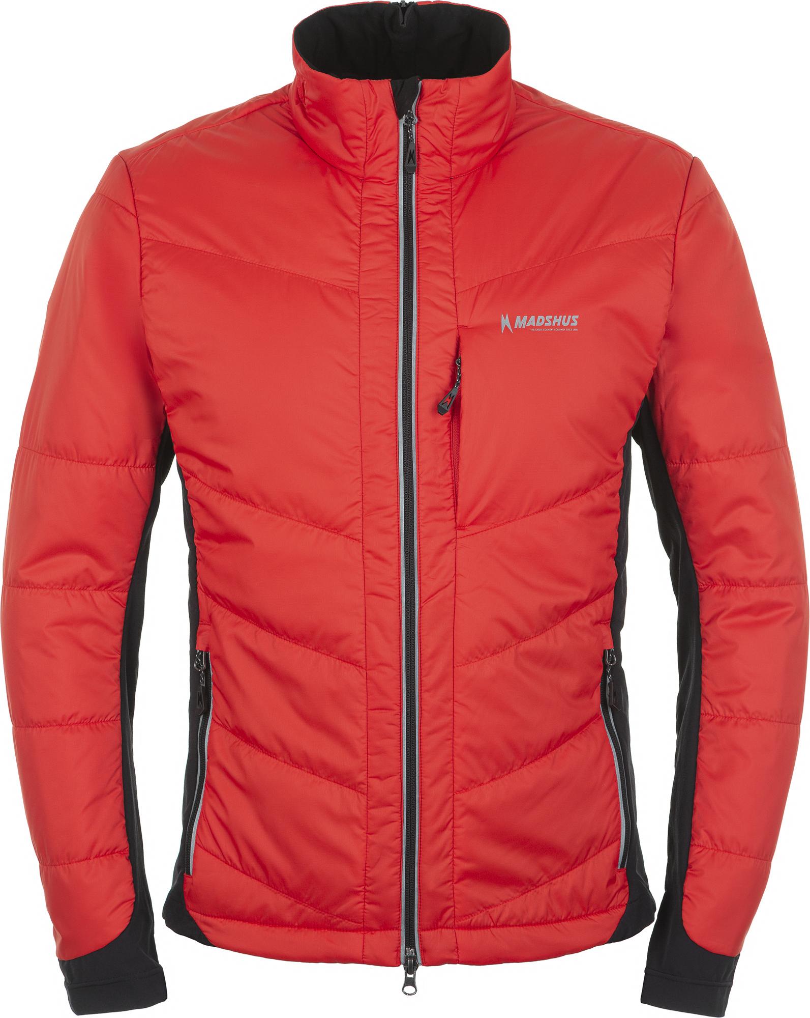 Madshus Куртка утепленная мужская Madshus, размер 52 madshus ботинки для беговых лыж madshus ct 90 размер 43
