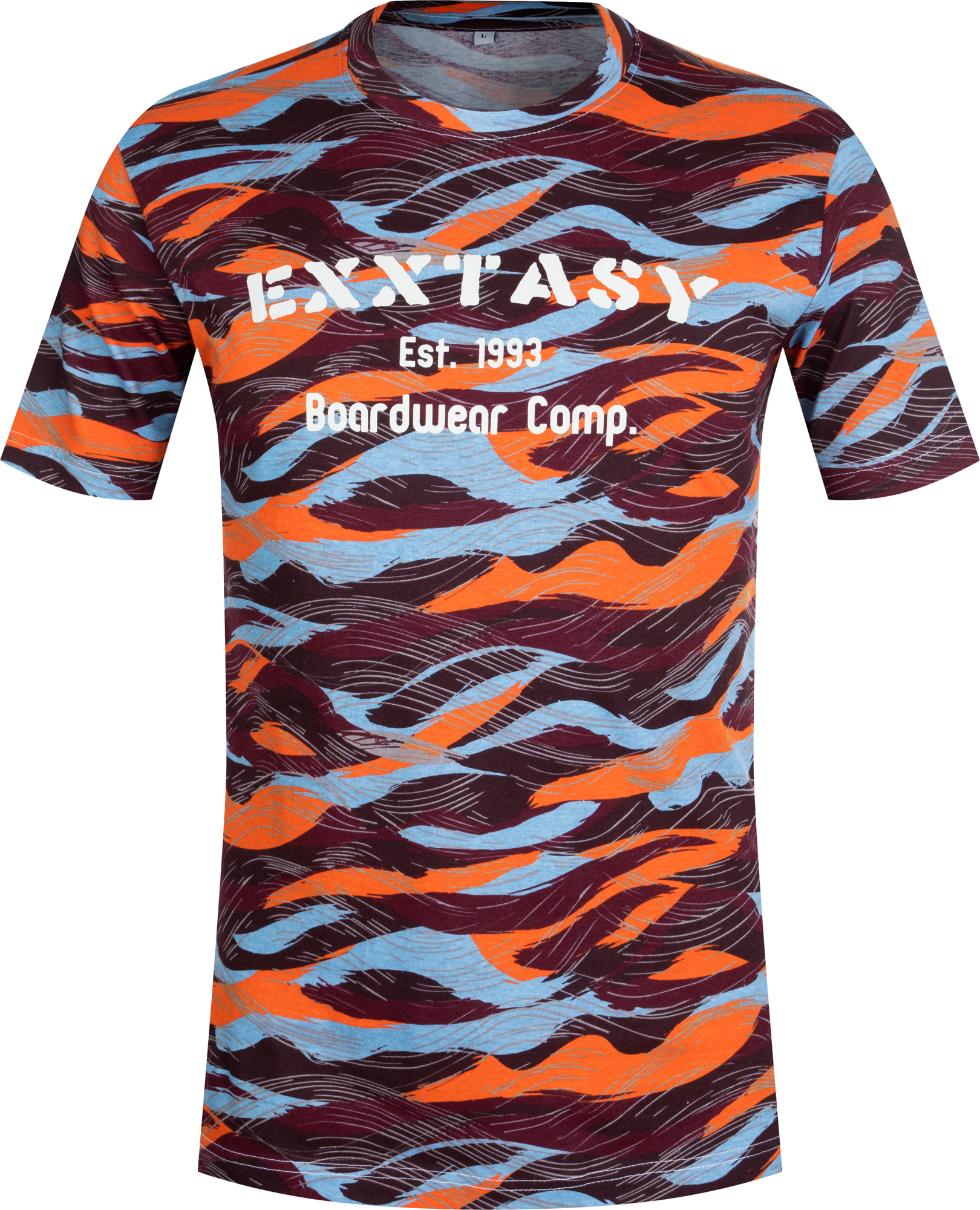 Exxtasy Футболка мужская Exxtasy Warwick, размер 54-56 exxtasy шорты пляжные мужские exxtasy tracy размер 54 56