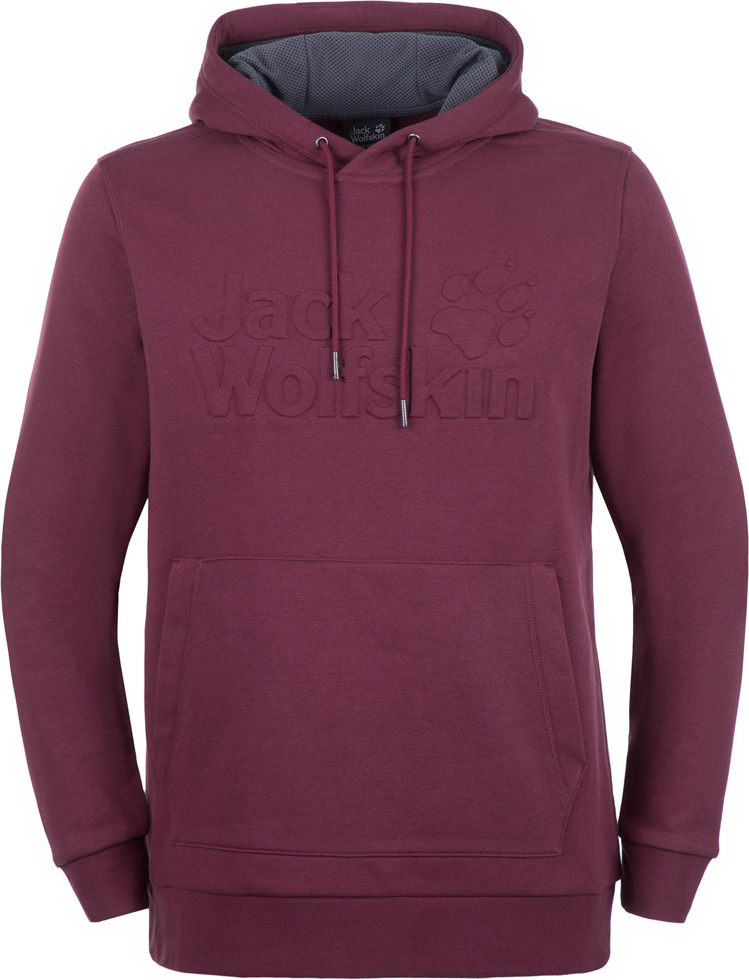 JACK WOLFSKIN Худи мужская Jack Wolfskin, размер 54-56 кепка jack wolfskin supplex canyon cap цвет молочный 1905891 5505 размер l 57 60