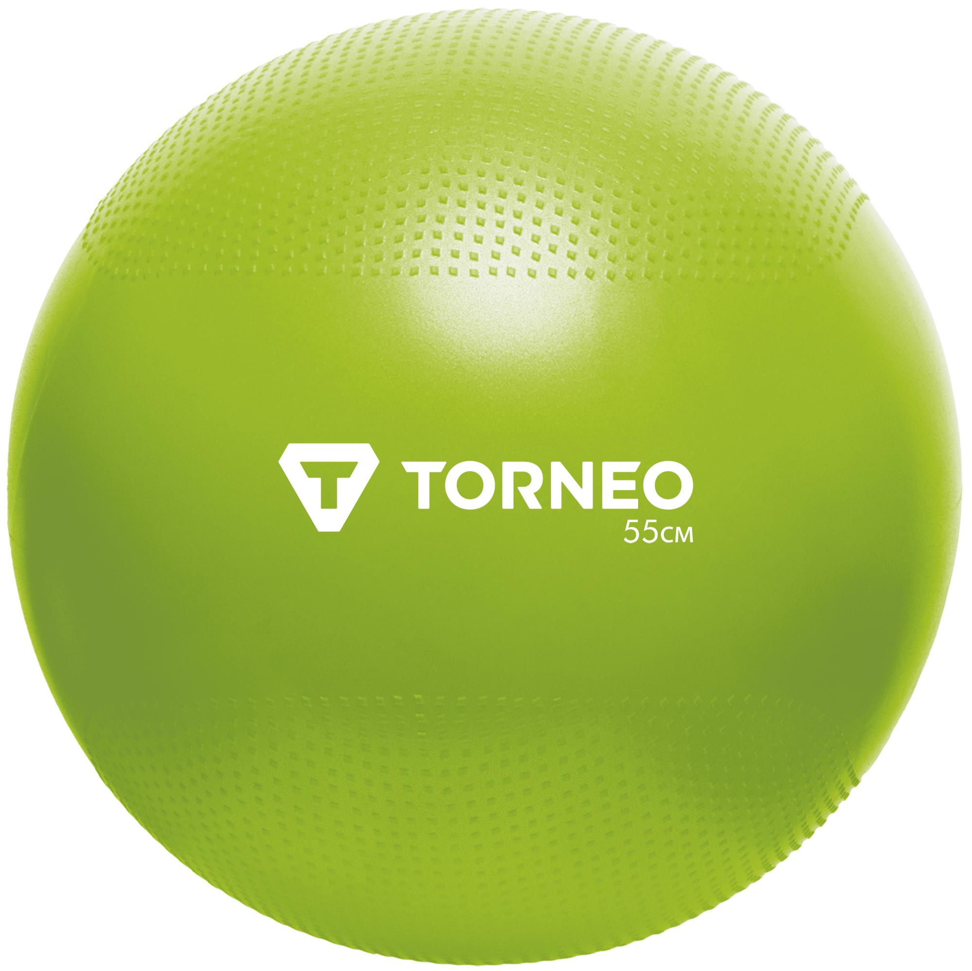 Torneo Мяч гимнастический Torneo, 55 см мяч гимнастический doka фитбол диаметр 65см зеленый