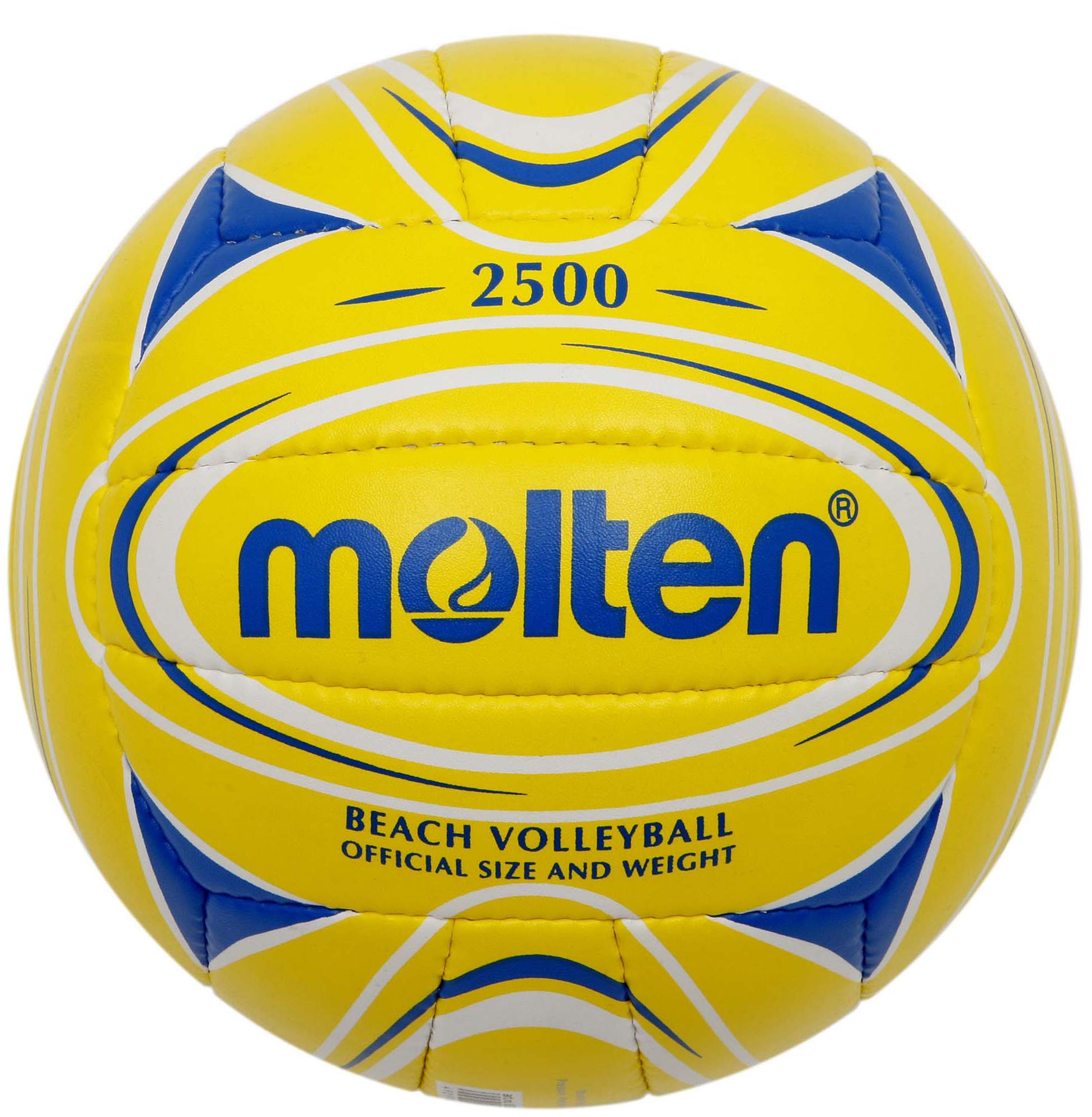 Molten Мяч для пляжного волейбола Molten мяч баскетбольный molten go7 ua