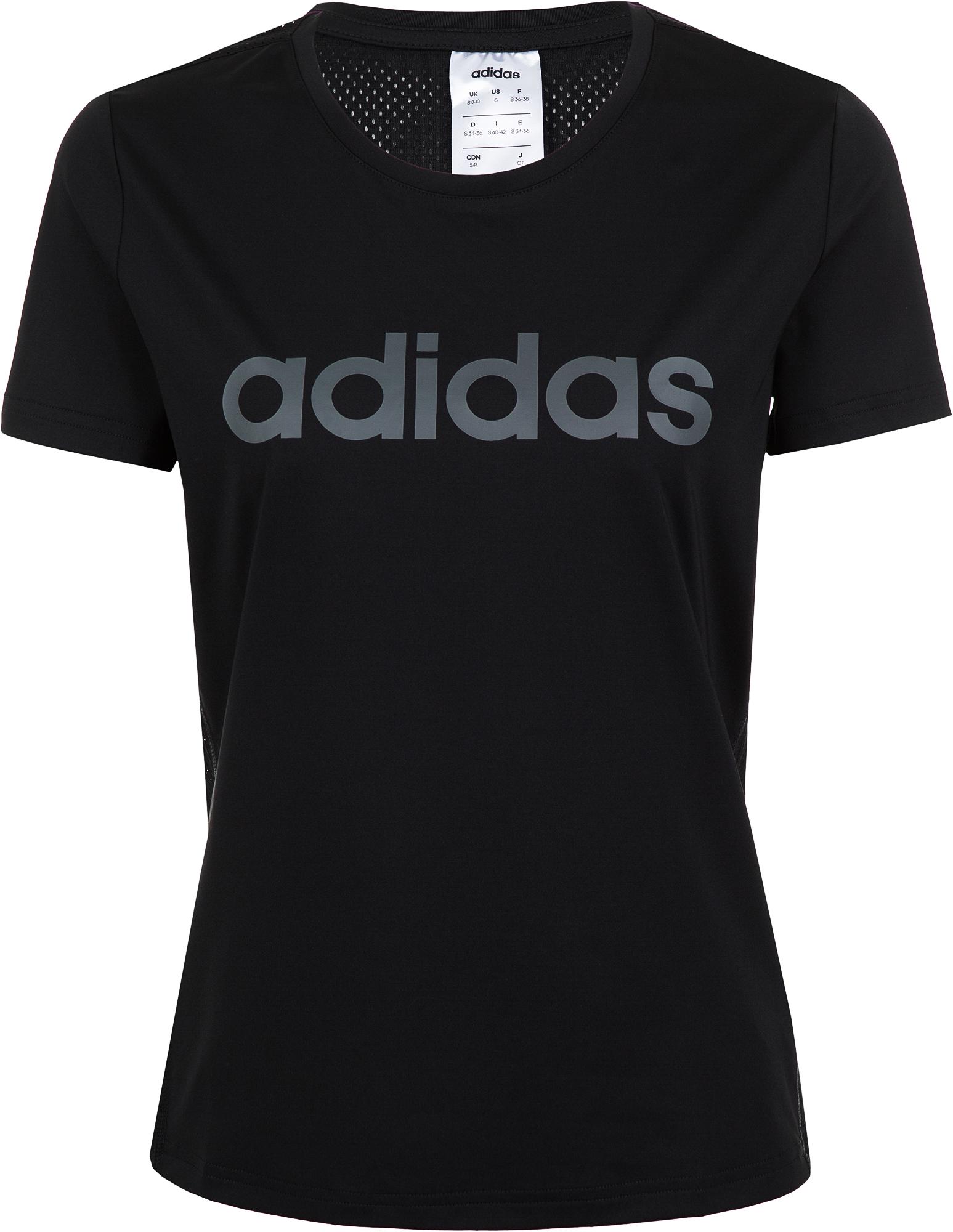 Adidas Футболка женская Adidas Design 2 Move Logo, размер 54-56 цена