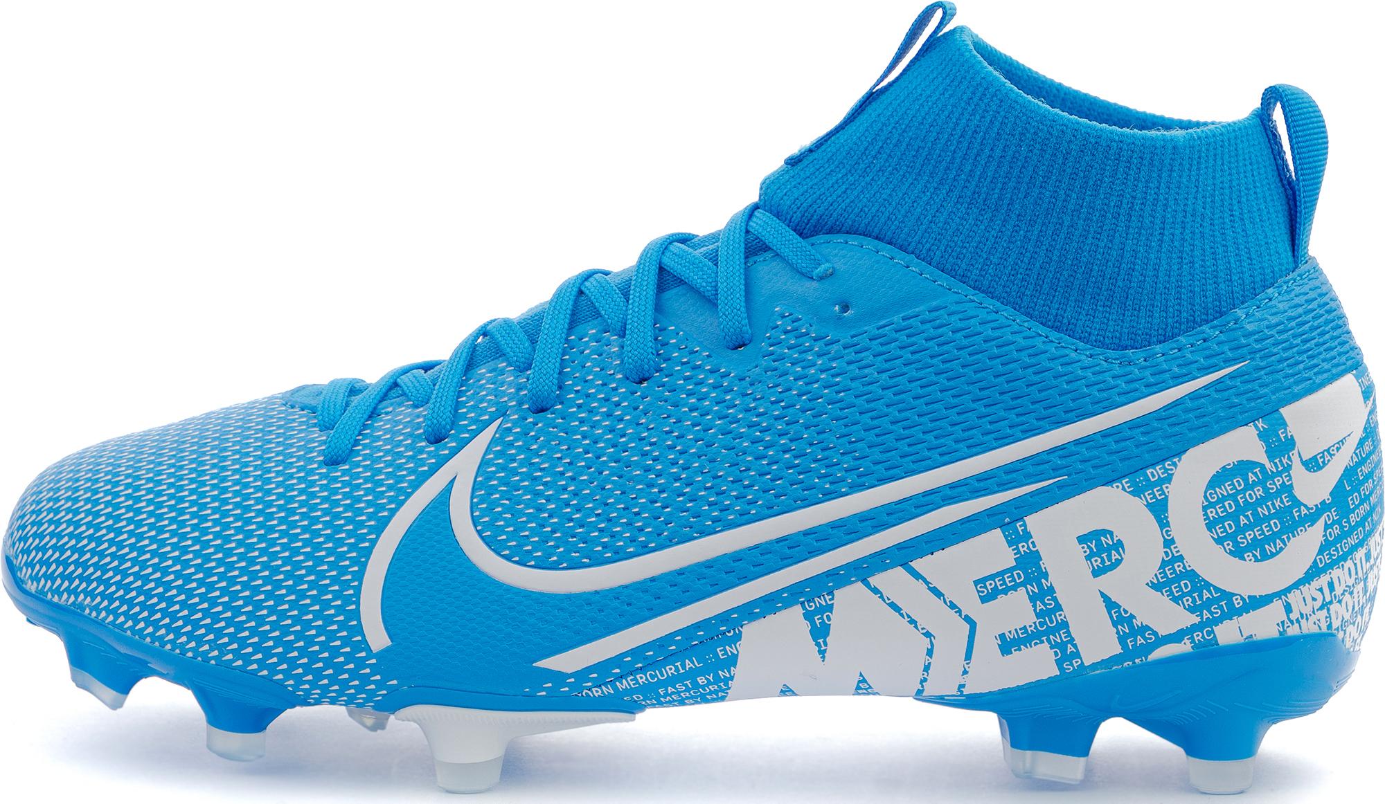 Nike Бутсы детские Jr Superfly 7 Academy FG/MG, размер 35