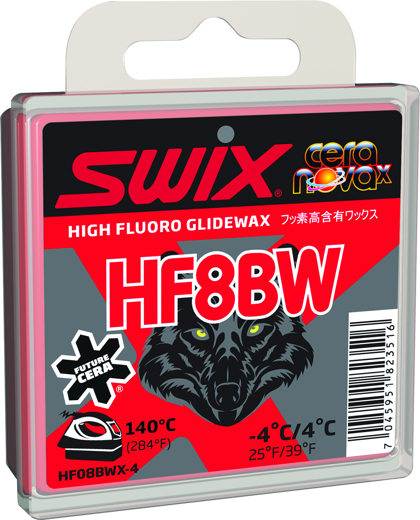 Swix Мазь скольжения Swix HF8BW, +4C/-4C все цены
