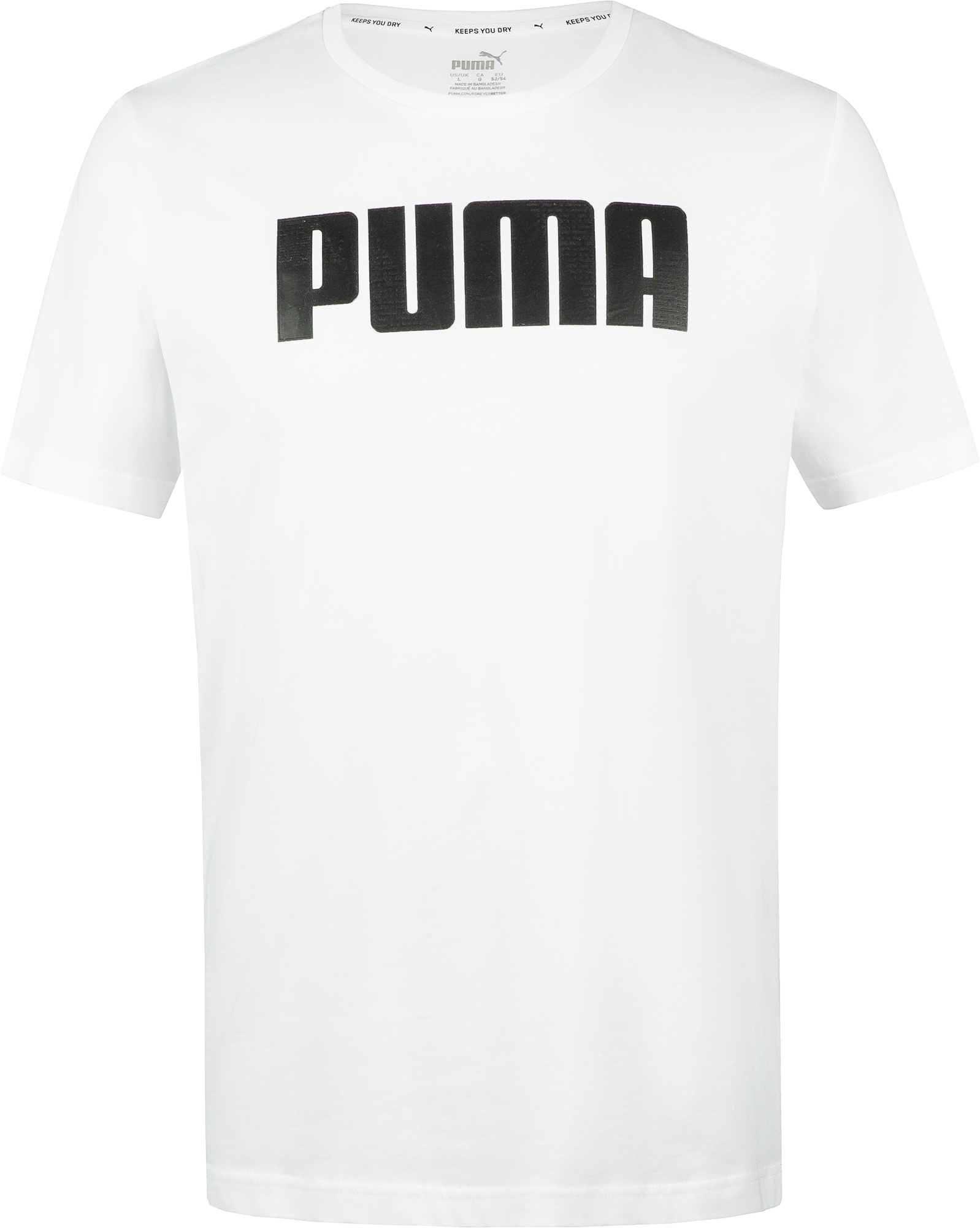 PUMA Футболка мужская Puma Active, размер 52-54 футболка мужская mavi цвет белый 065283 620 размер xxl 54