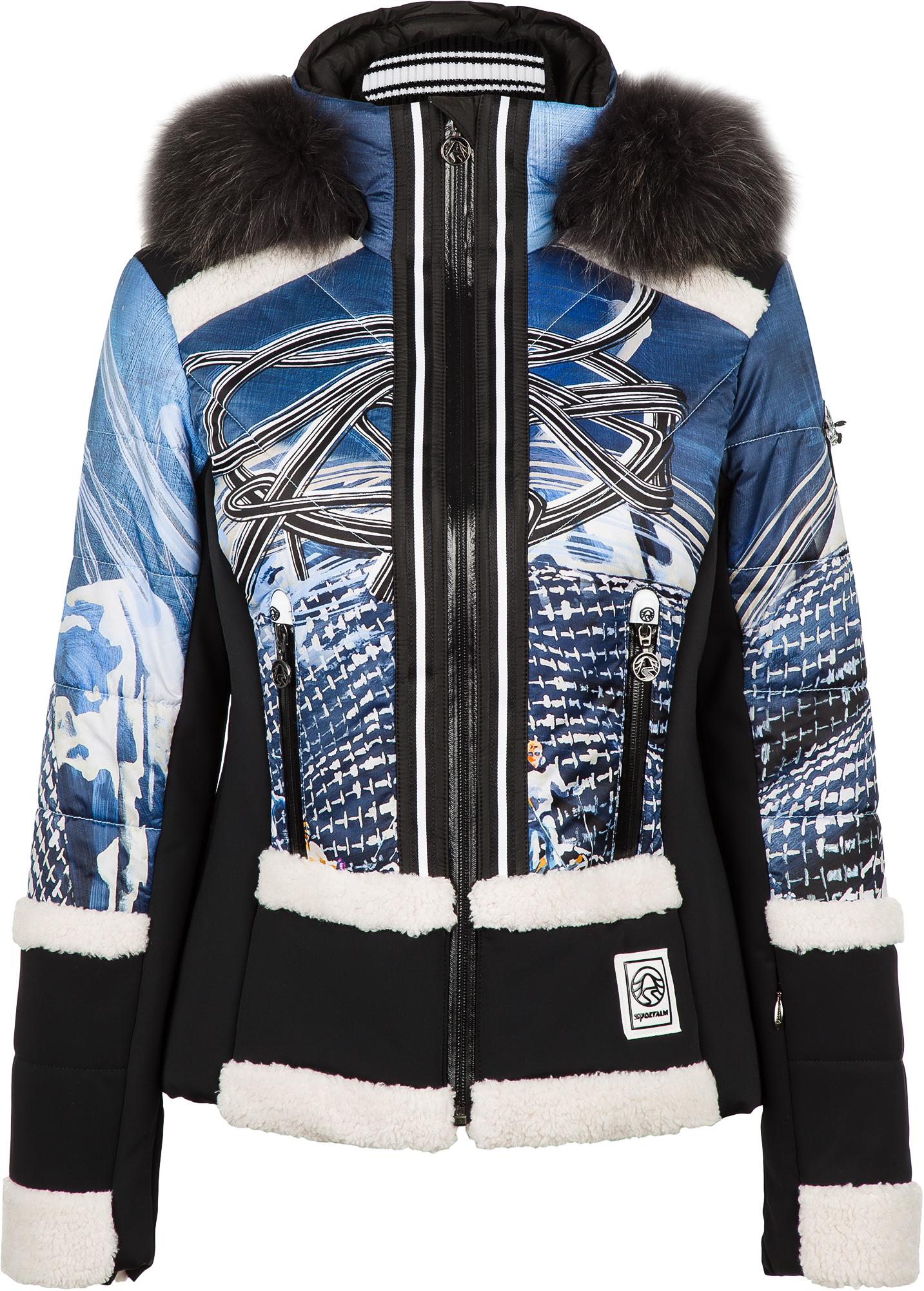 цена Sportalm Куртка утепленная женская Sportalm Lussa m.Kap+P, размер 44 онлайн в 2017 году