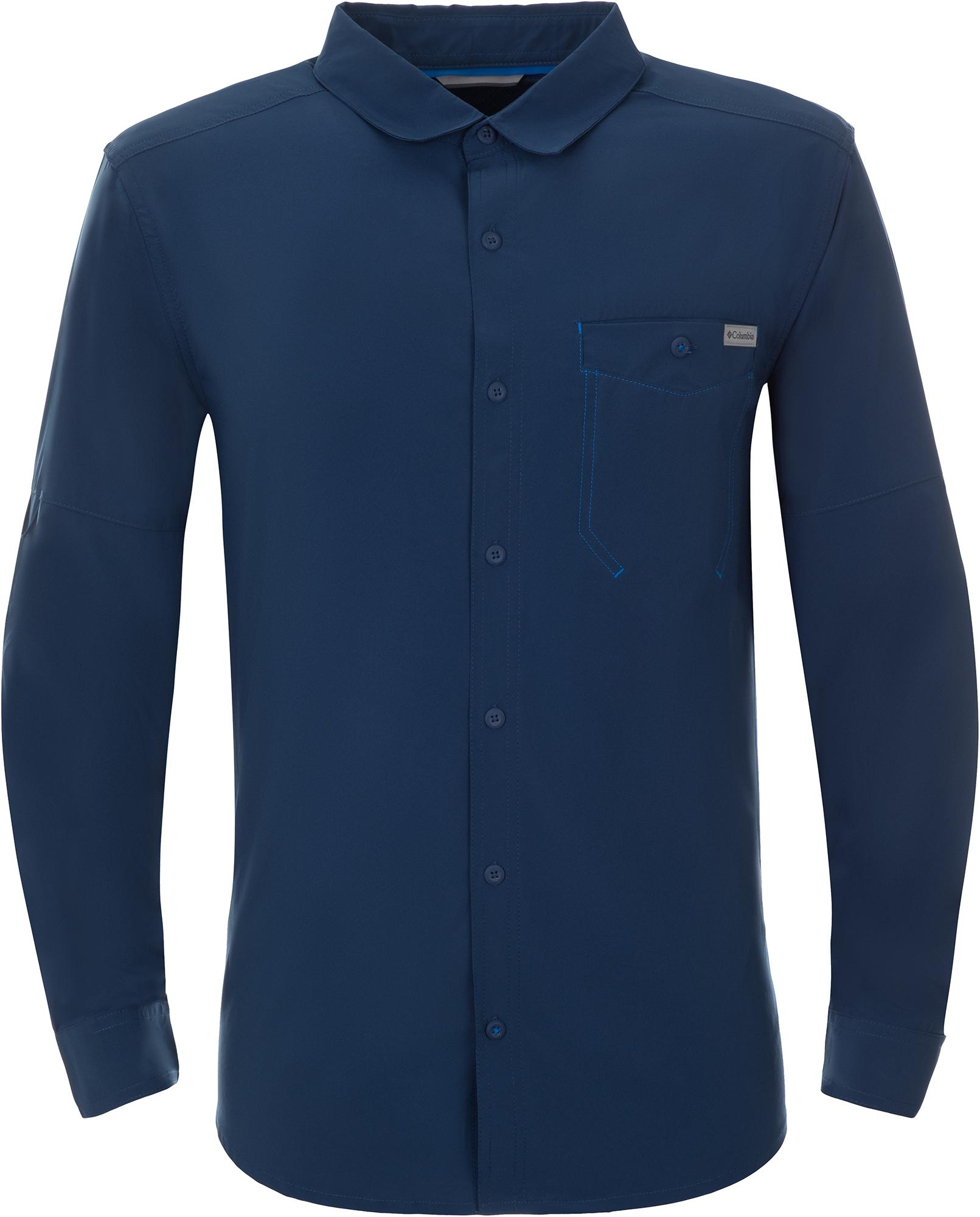 Columbia Рубашка с длинным рукавом мужская Triple Canyon Solid, размер 44-46