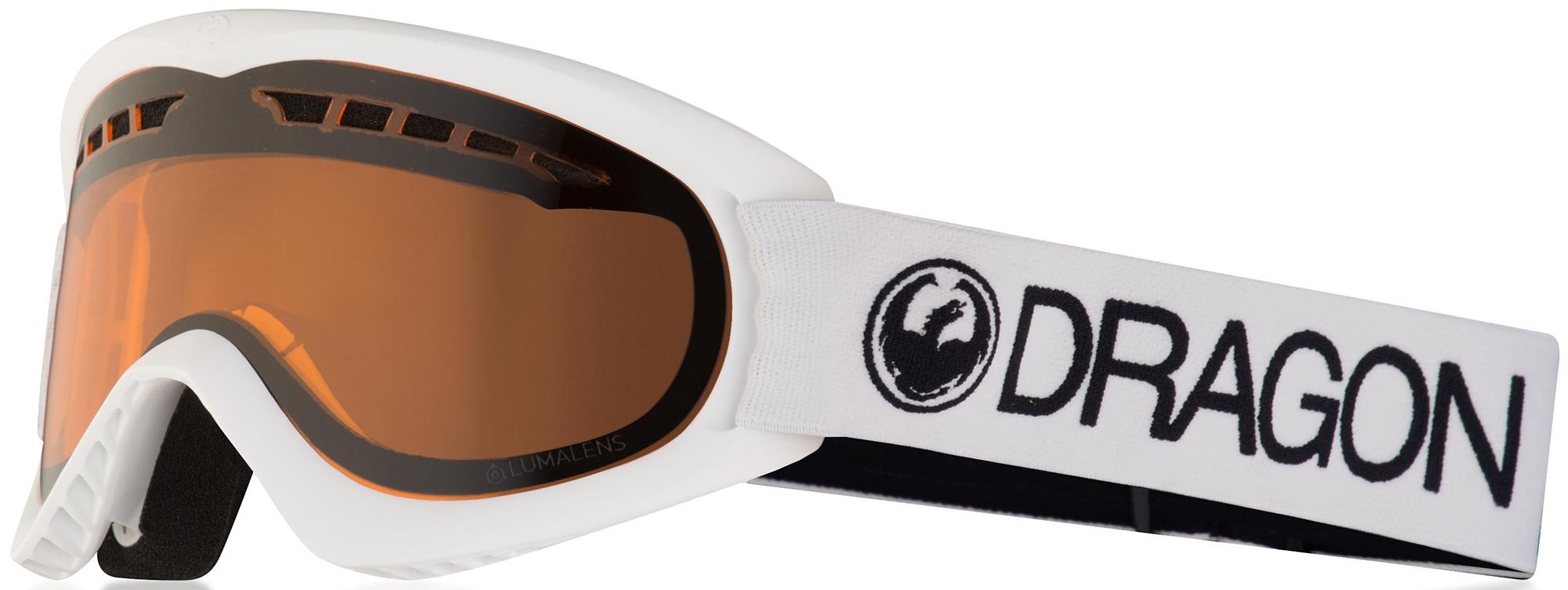 Dragon Маска Dragon Dx White - Lumalens