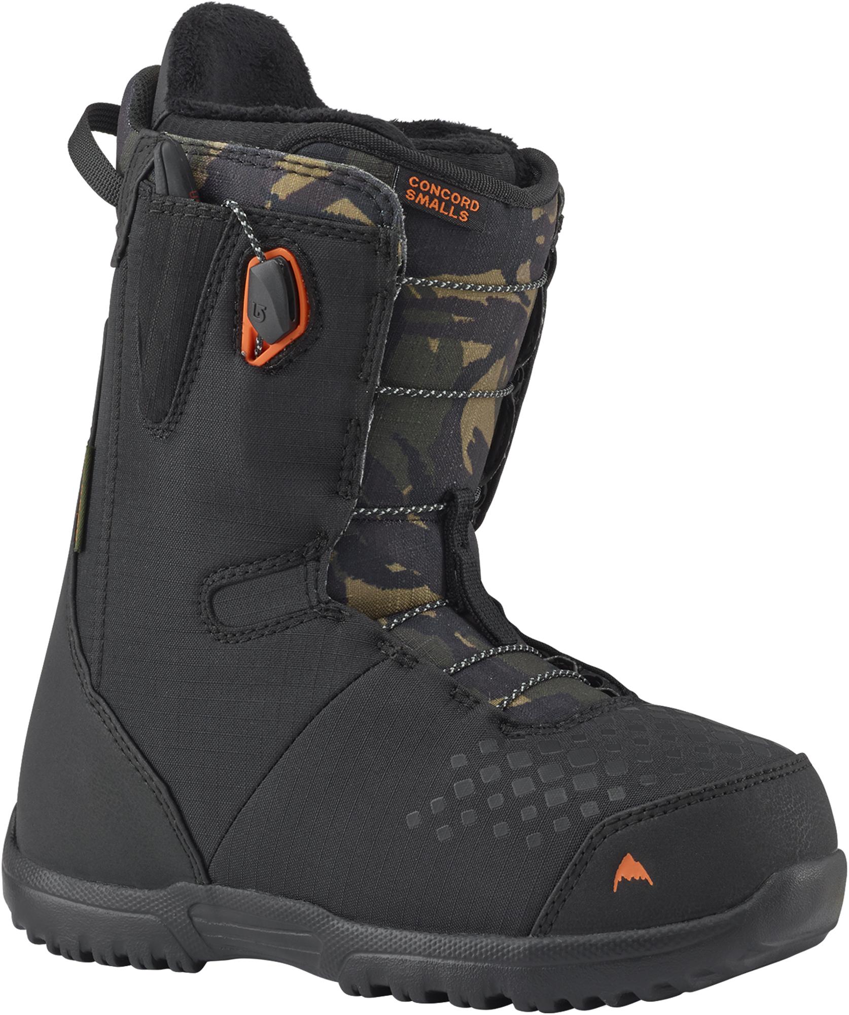 Burton Сноубордические ботинки детские Burton Concord Smalls, размер 34 варежки сноубордические детские dc molan adventure time