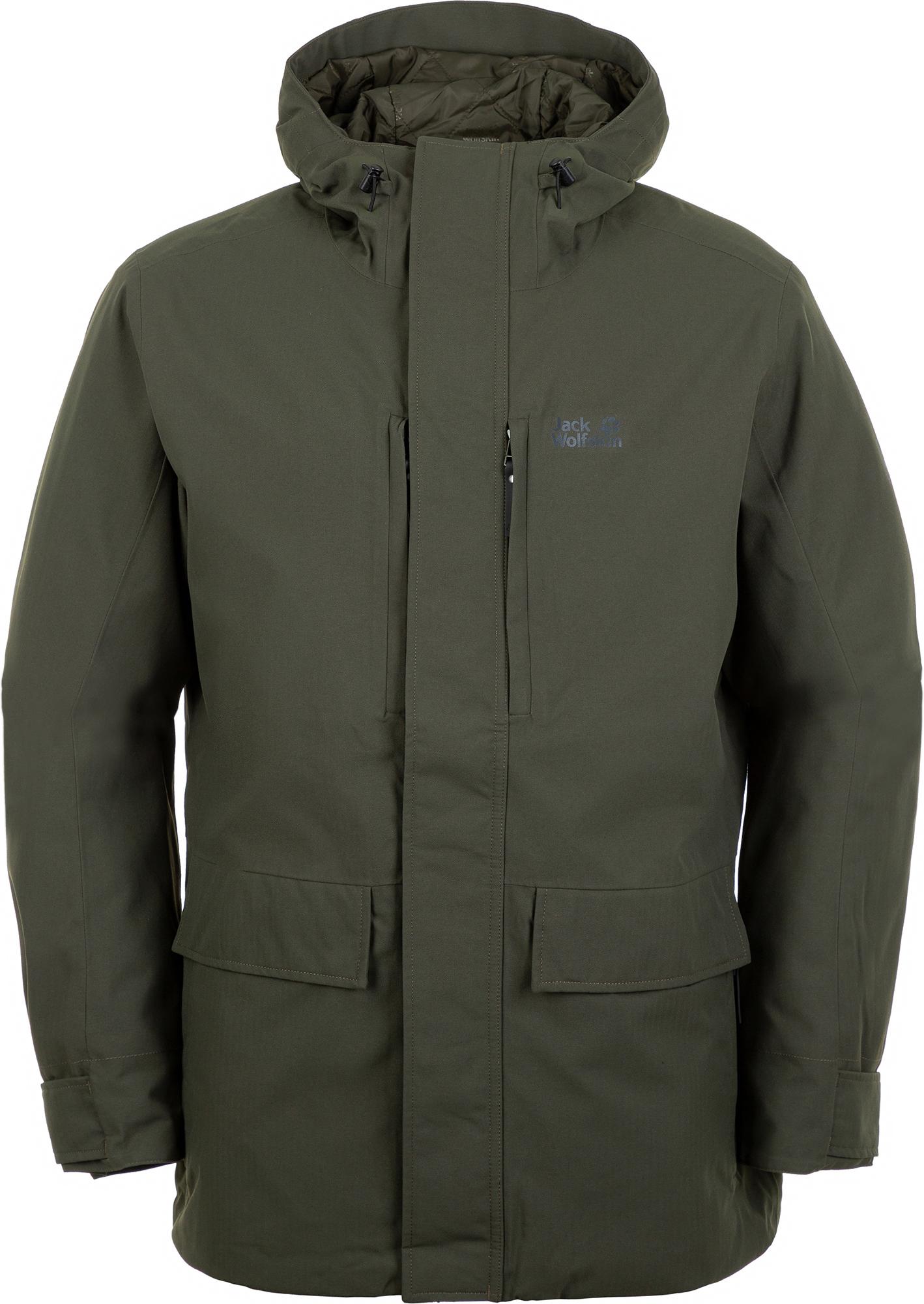 лучшая цена Jack Wolfskin Куртка утепленная мужская Jack Wolfskin West Coast, размер 58