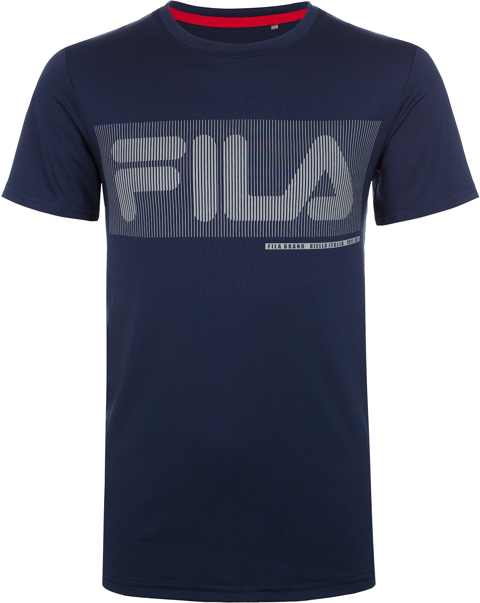 Fila Футболка для мальчиков Fila, размер 176 цена