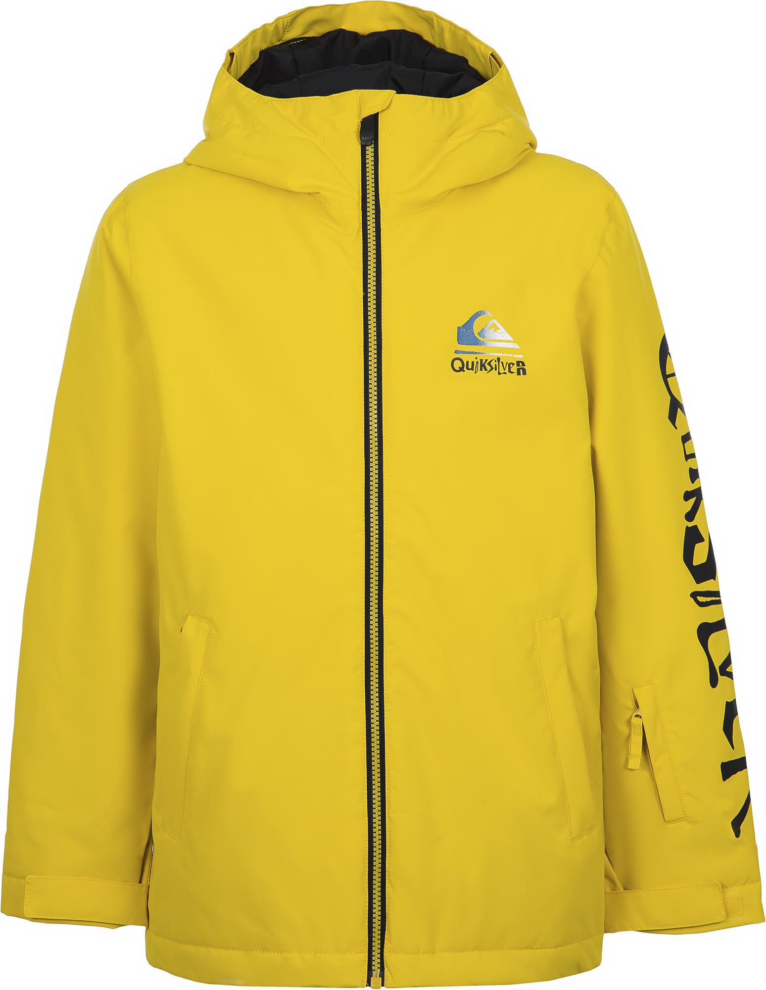Quiksilver Куртка утепленная для мальчиков Quiksilver In The Hood Youth, размер 134-140 куртка quiksilver quiksilver qu192emedhx1