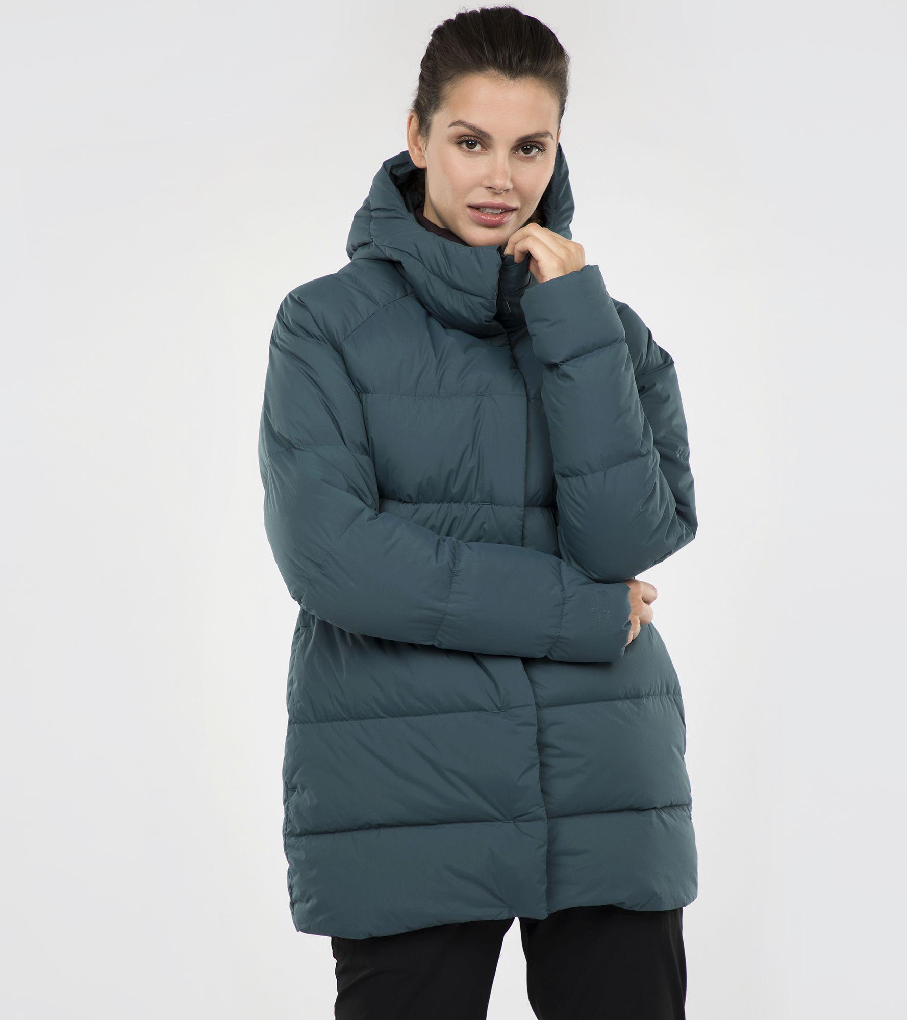 Mountain Hardwear Куртка пуховая женская Mountain Hardwear, размер 50 цены