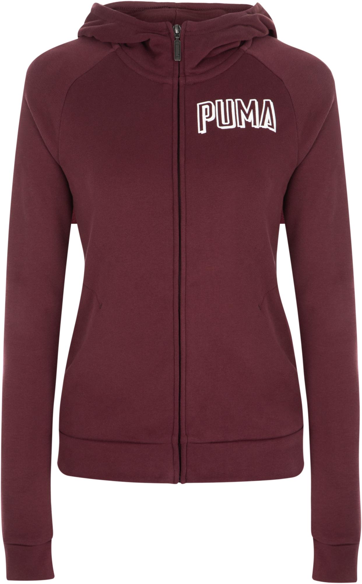 Puma Джемпер женский Puma Athletics, размер 48-50 лонгслив женский puma run hooded top w цвет светло серый 51628202 размер xl 48 50