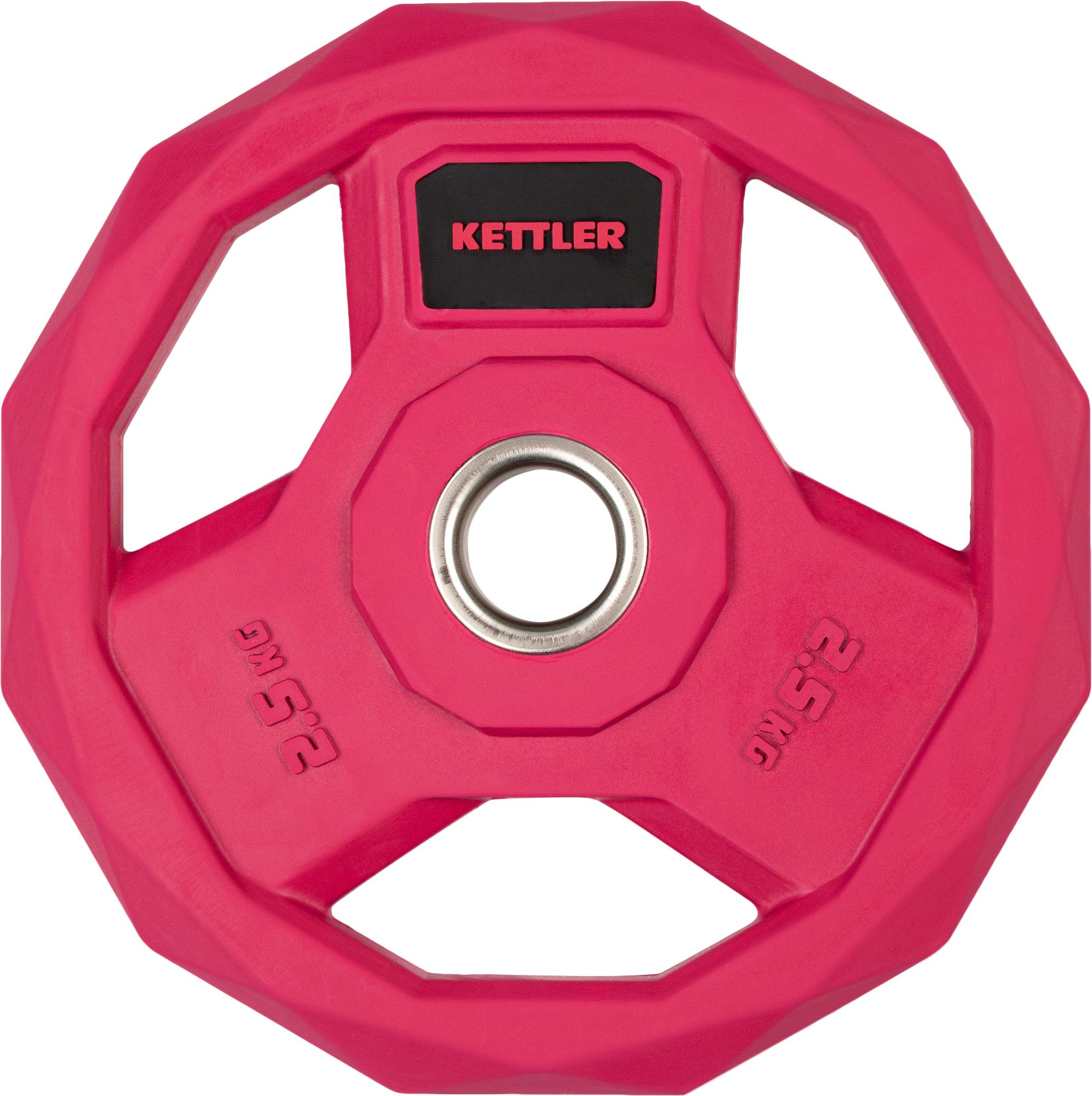 Kettler Блин стальной обрезиненный 2,5 кг