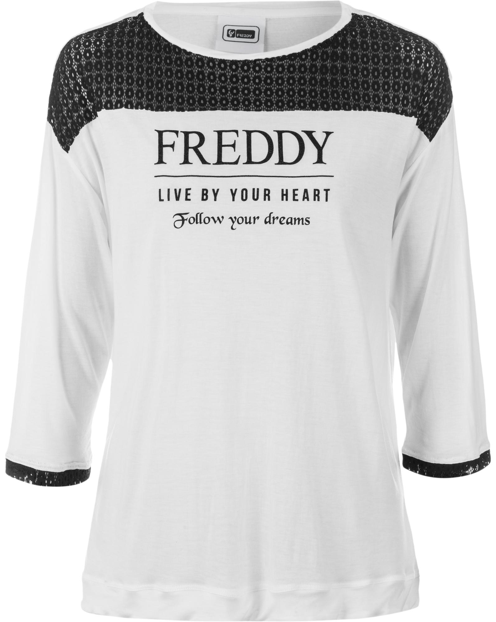 Freddy Футболка с длинным рукавом женская Freddy, размер 46-48