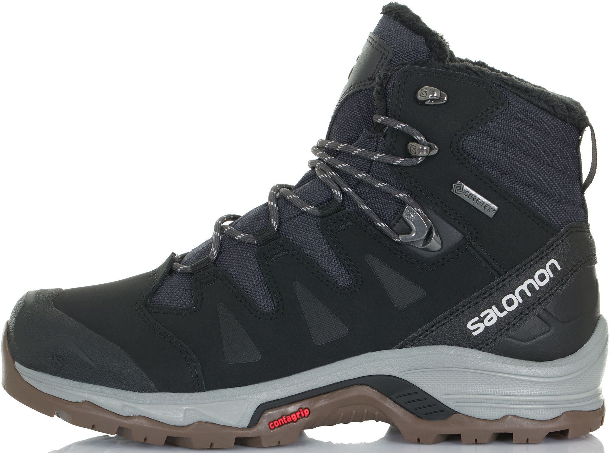 Salomon Ботинки утепленные мужские Salomon Quest Winter Gtx, размер 42.5 salomon ботинки утепленные мужские salomon crusano размер 40