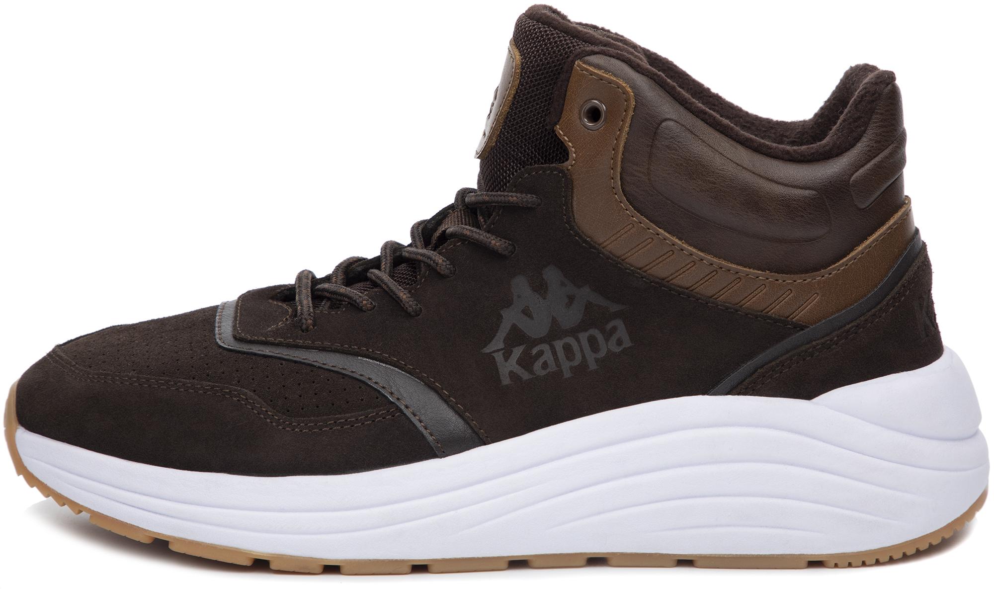 кроссовки мужские kappa alfa m цвет бордовый 304q5y0 906 размер 44 43 Kappa Кроссовки высокие мужские Kappa Neoclassic 2.0, размер 40