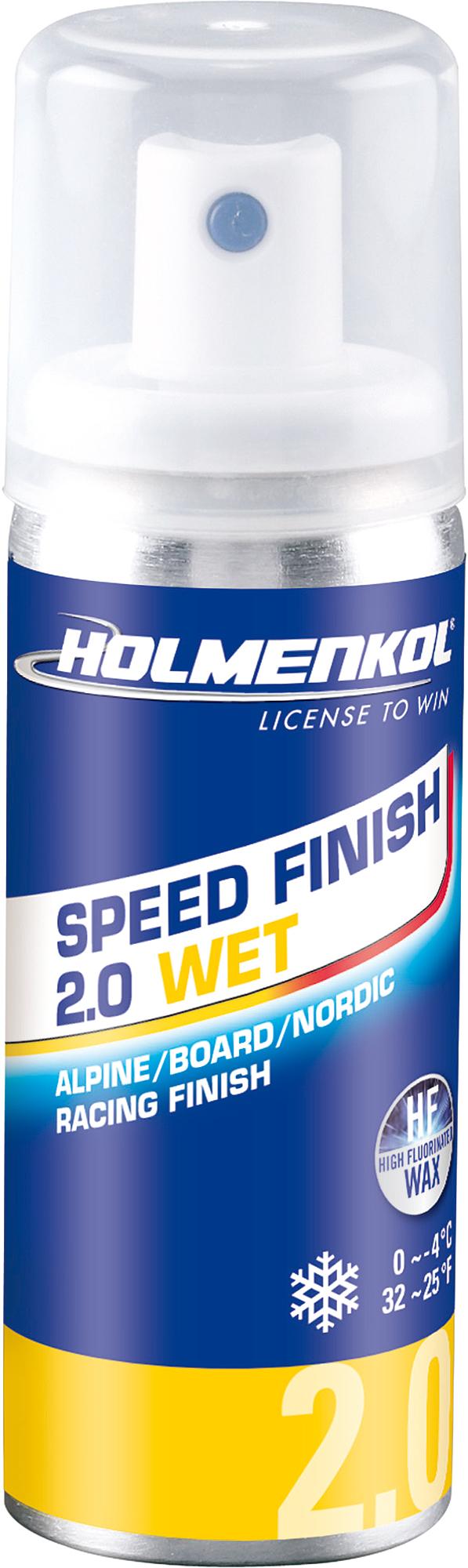 Holmenkol Эмульсия фторуглеродная для лыж и сноубордов HOLMENKOL Speed Finish 2.0WET
