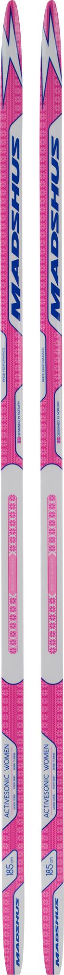 Madshus Беговые лыжи женские Madshus Activesonic лыжи беговые tisa top universal с креплением цвет желтый белый черный рост 182 см