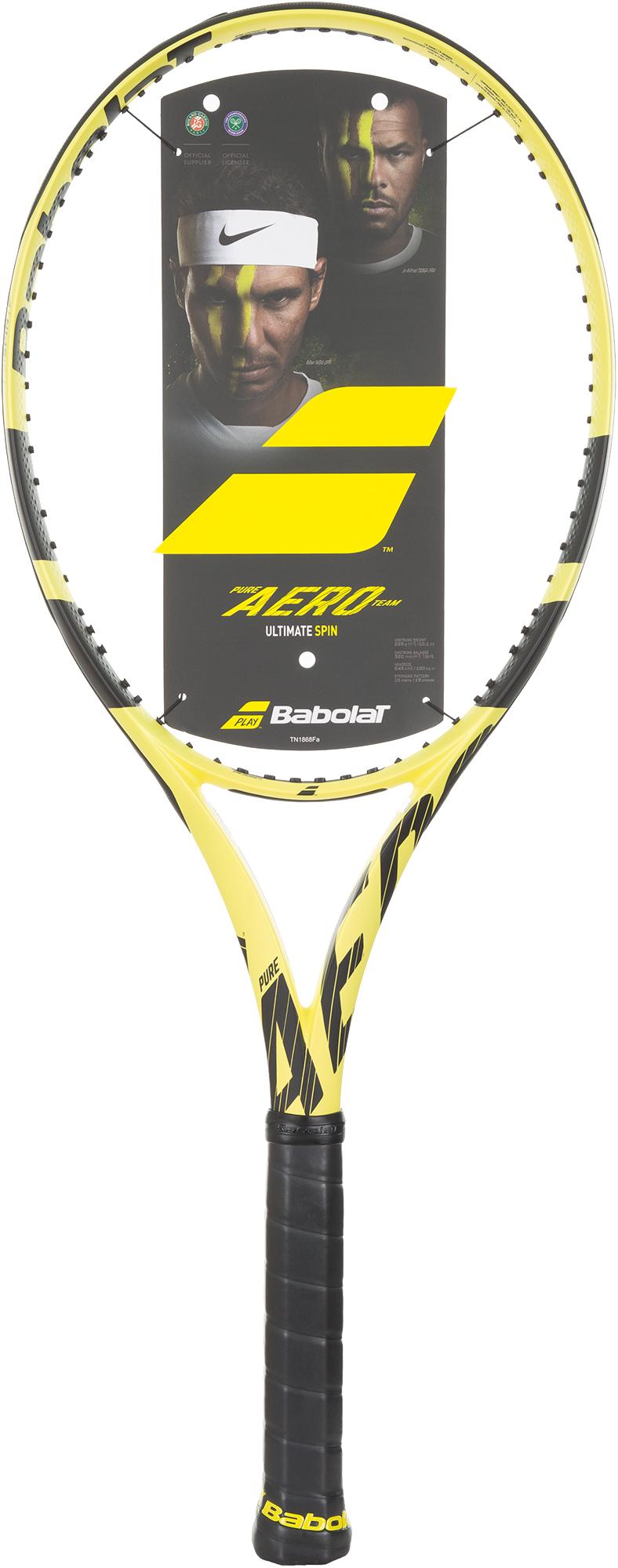 Babolat Ракетка для большого тенниса Babolat Pure Aero Team, размер 4 babolat ракетка для большого тенниса детская babolat ballfighter 19 размер без размера