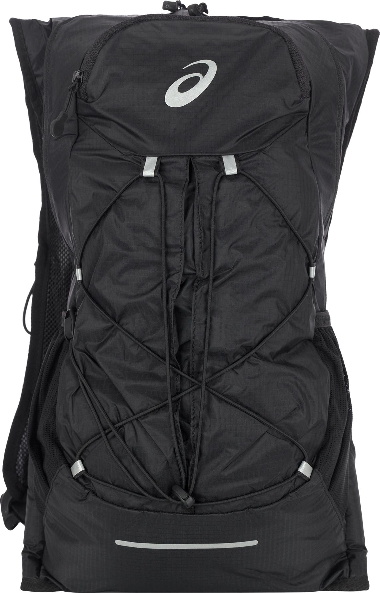 3c24944599db Вместительный рюкзак от asics - идеальный вариант для бега. Благодаря  эргономичной конструкции с регулируемыми ремешками на груди и поясе модель  плотно ...
