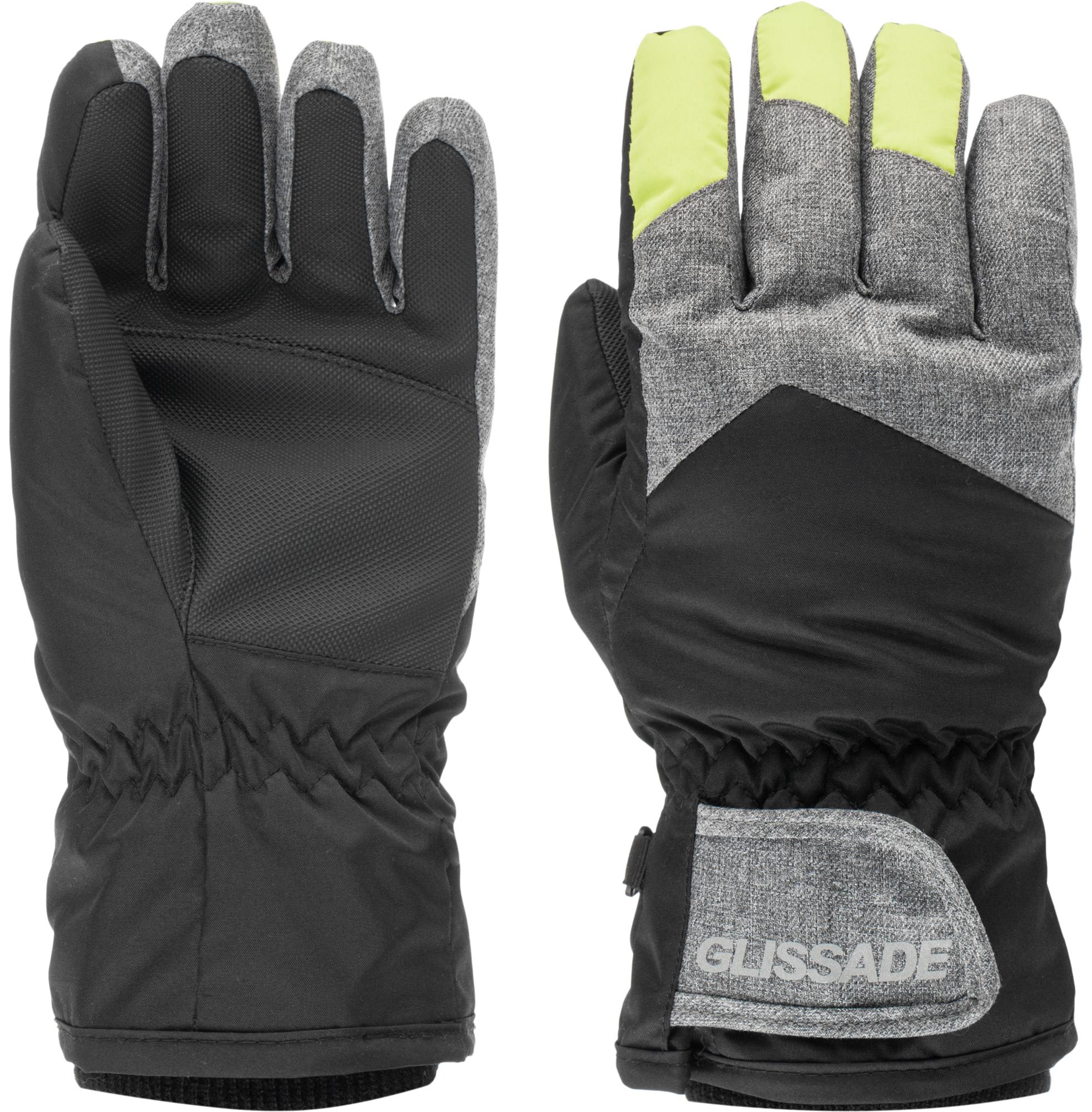 Glissade Перчатки для мальчиков Glissade, размер 5