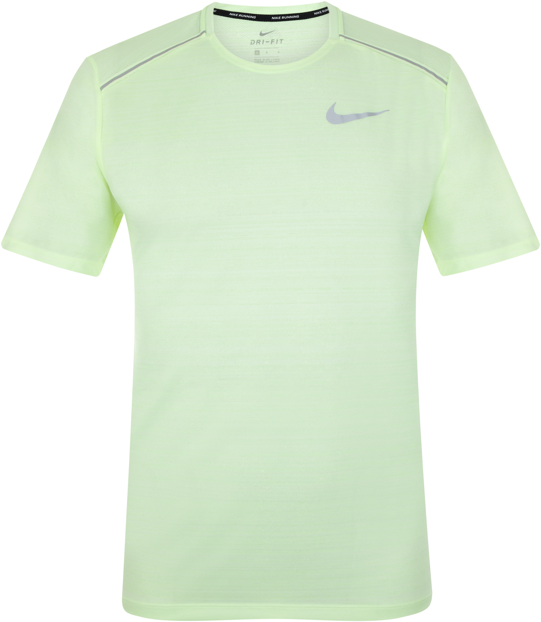 Nike Футболка мужская Nike Dry Miler, размер 50-52 nike футболка мужская nike cool miler