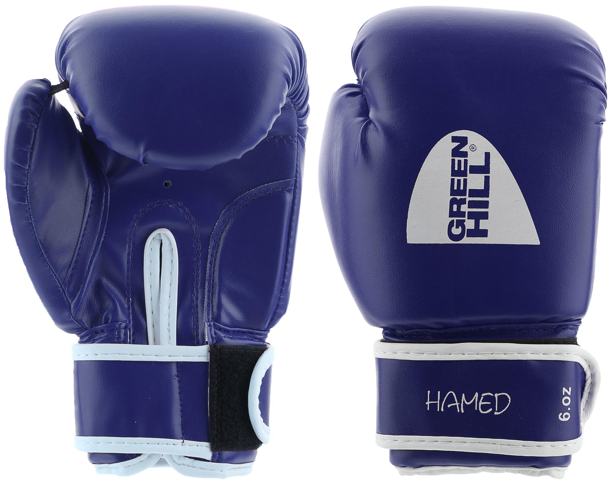 цена на Green Hill Перчатки боксерские детские Green Hill Hamed, размер 6 oz